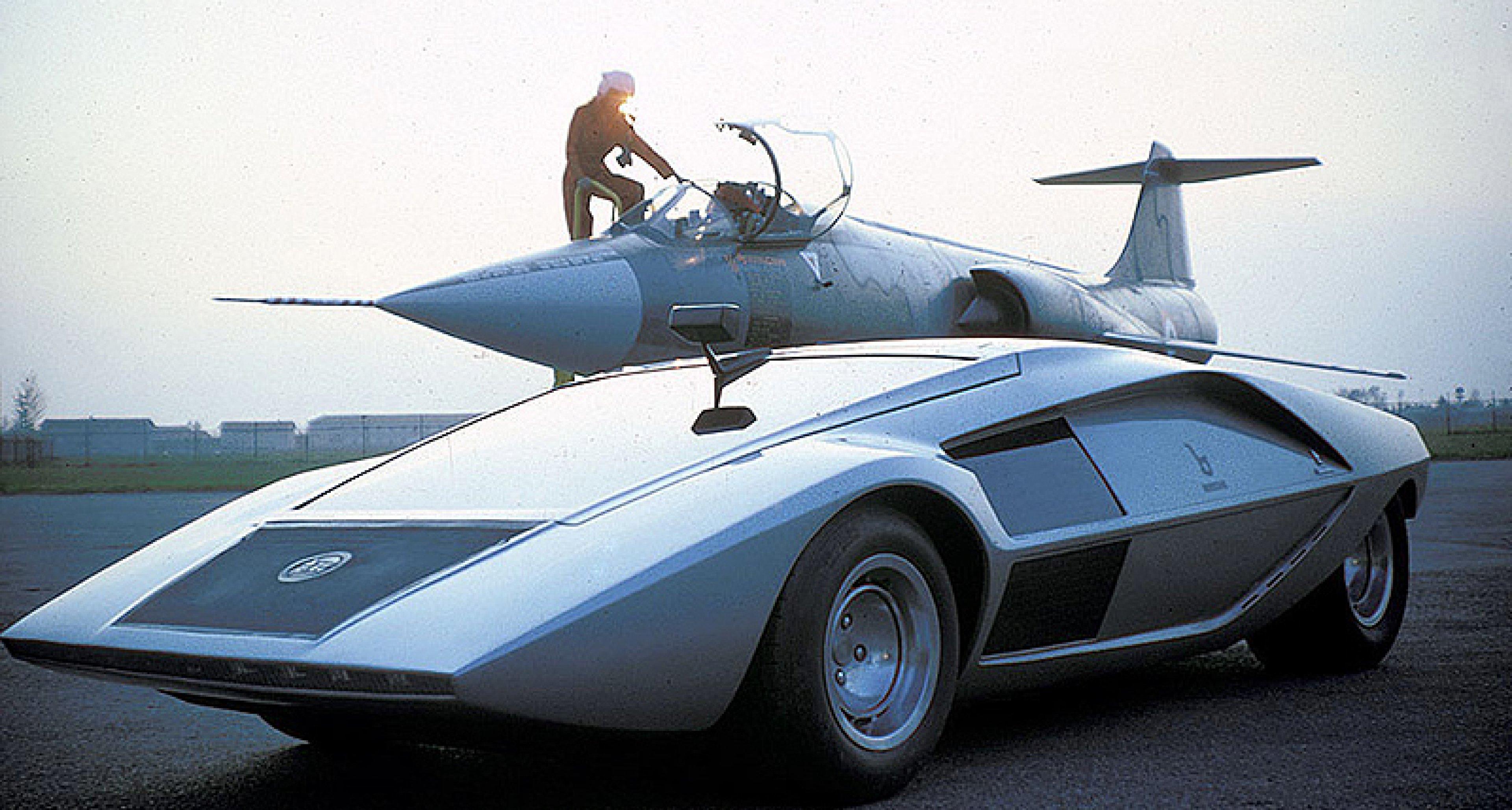 Futuristische luxusyachten  Classic Concepts: Lancia Stratos Zero   Classic Driver Magazine