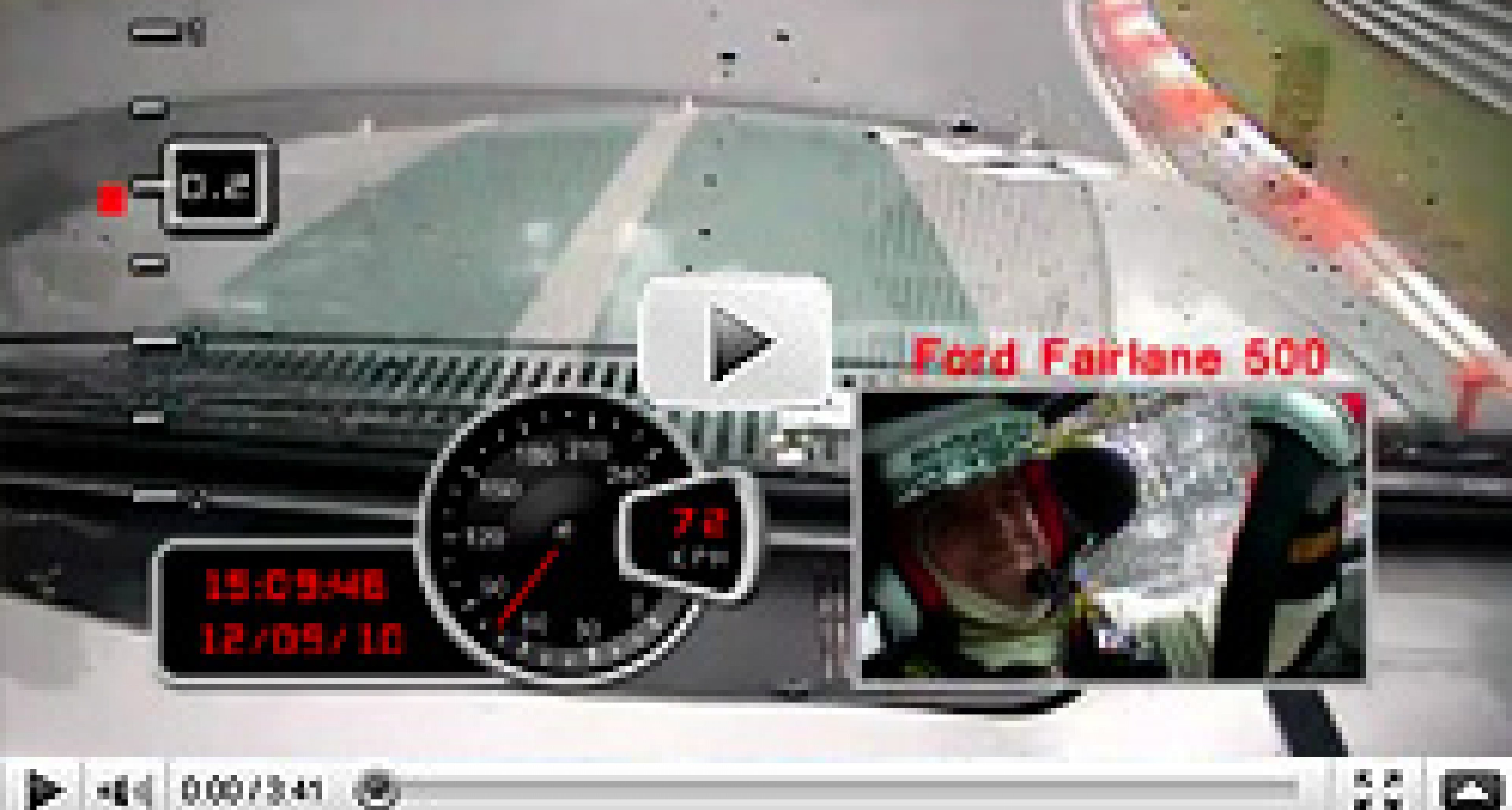 New Video: In-Car Ford Fairlane at the 'Ring 2010