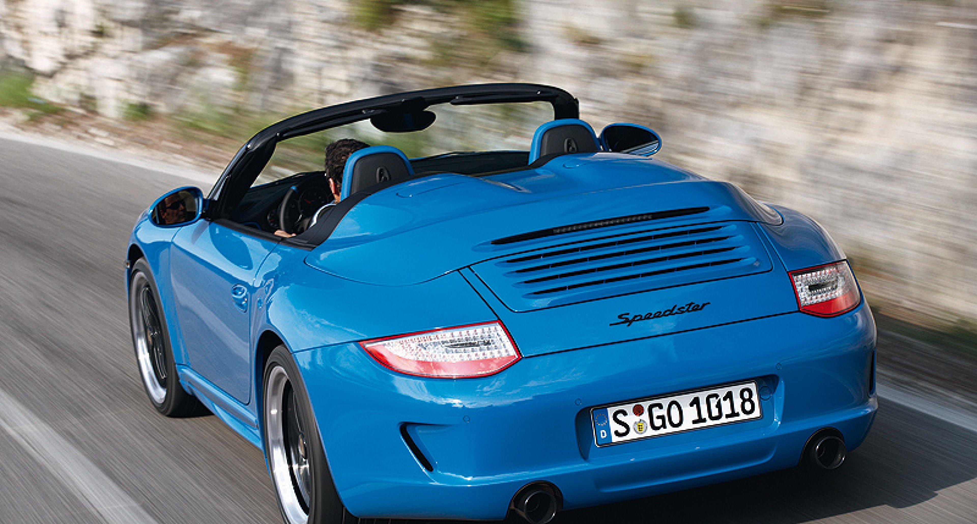 Porsche Exclusive to Produce New 911 Speedster