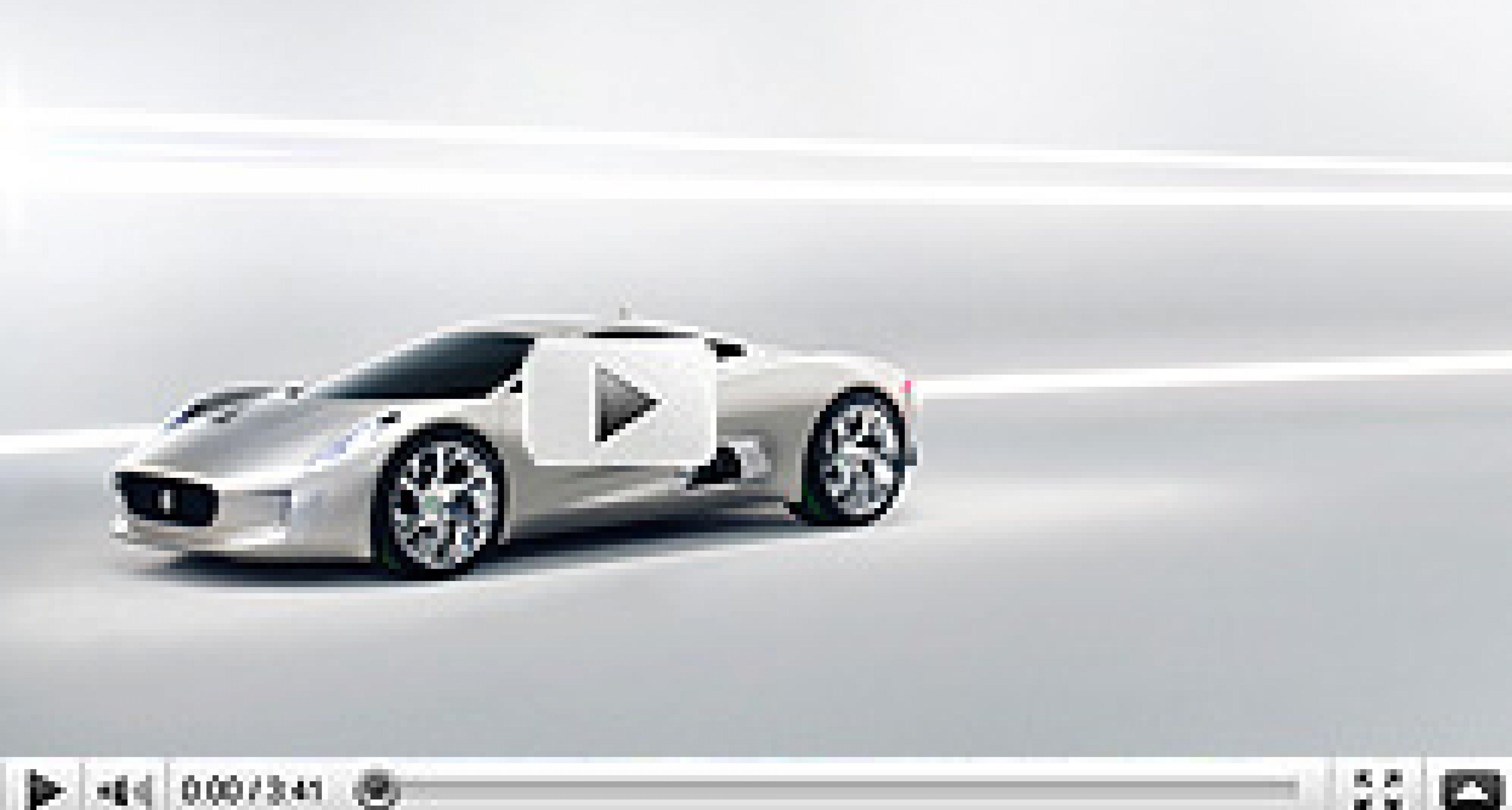 Paris 2010: Jaguar C-X75 Concept