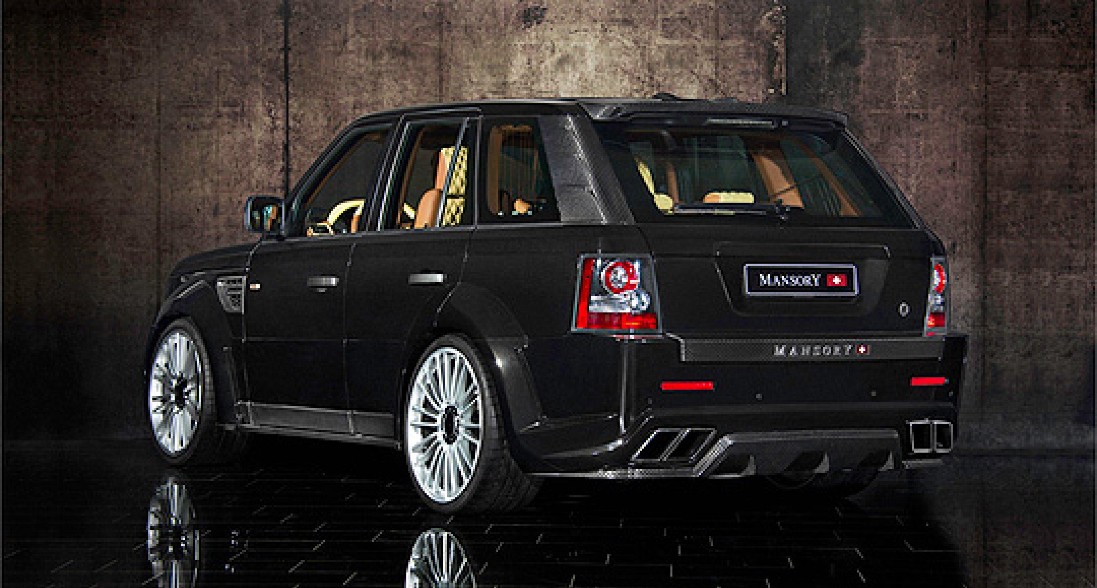 Range Rover Sport by Mansory Switzerland