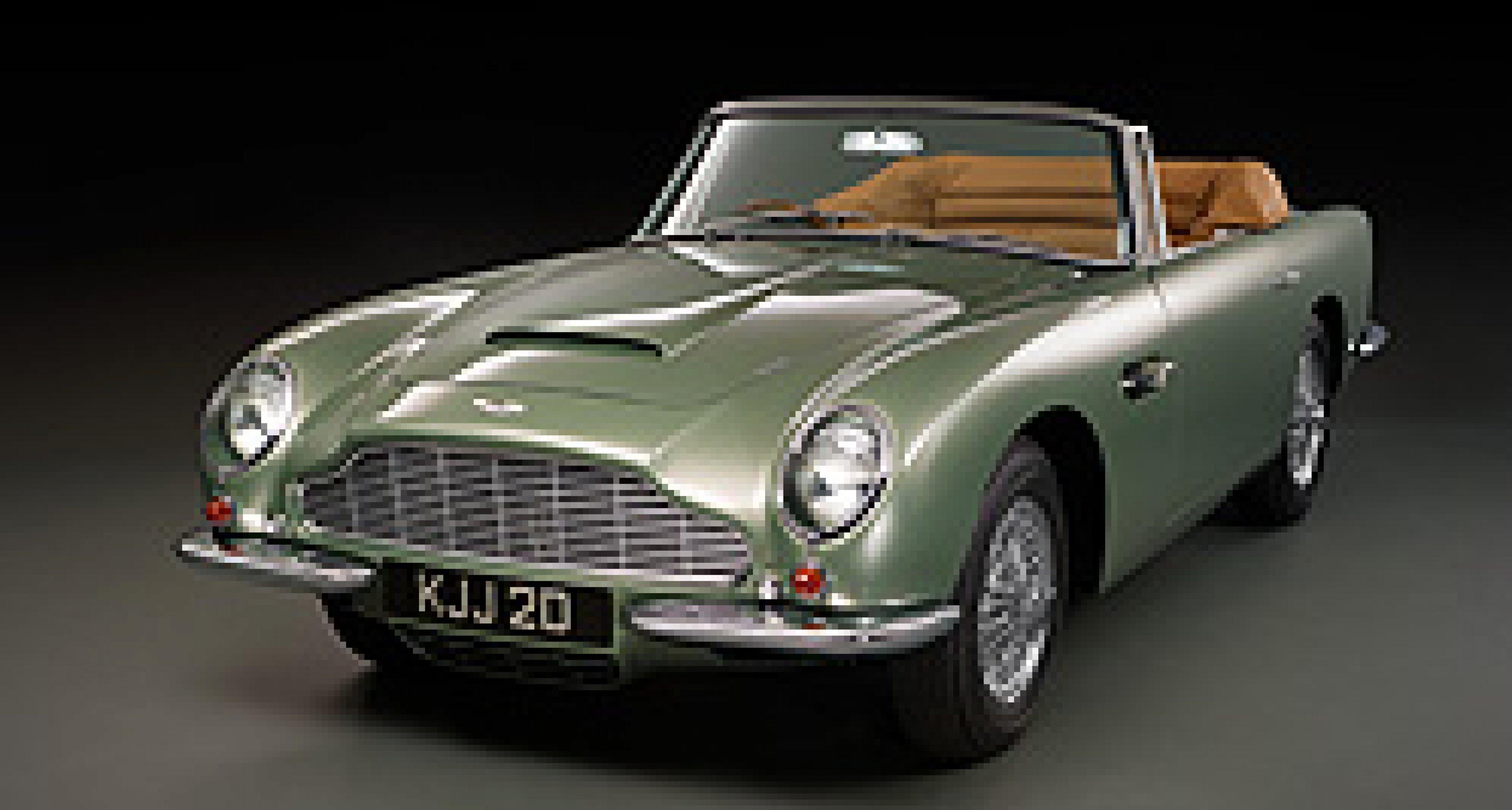 Aston Martin Db5 Short Chassis Volante Classic Driver Magazine