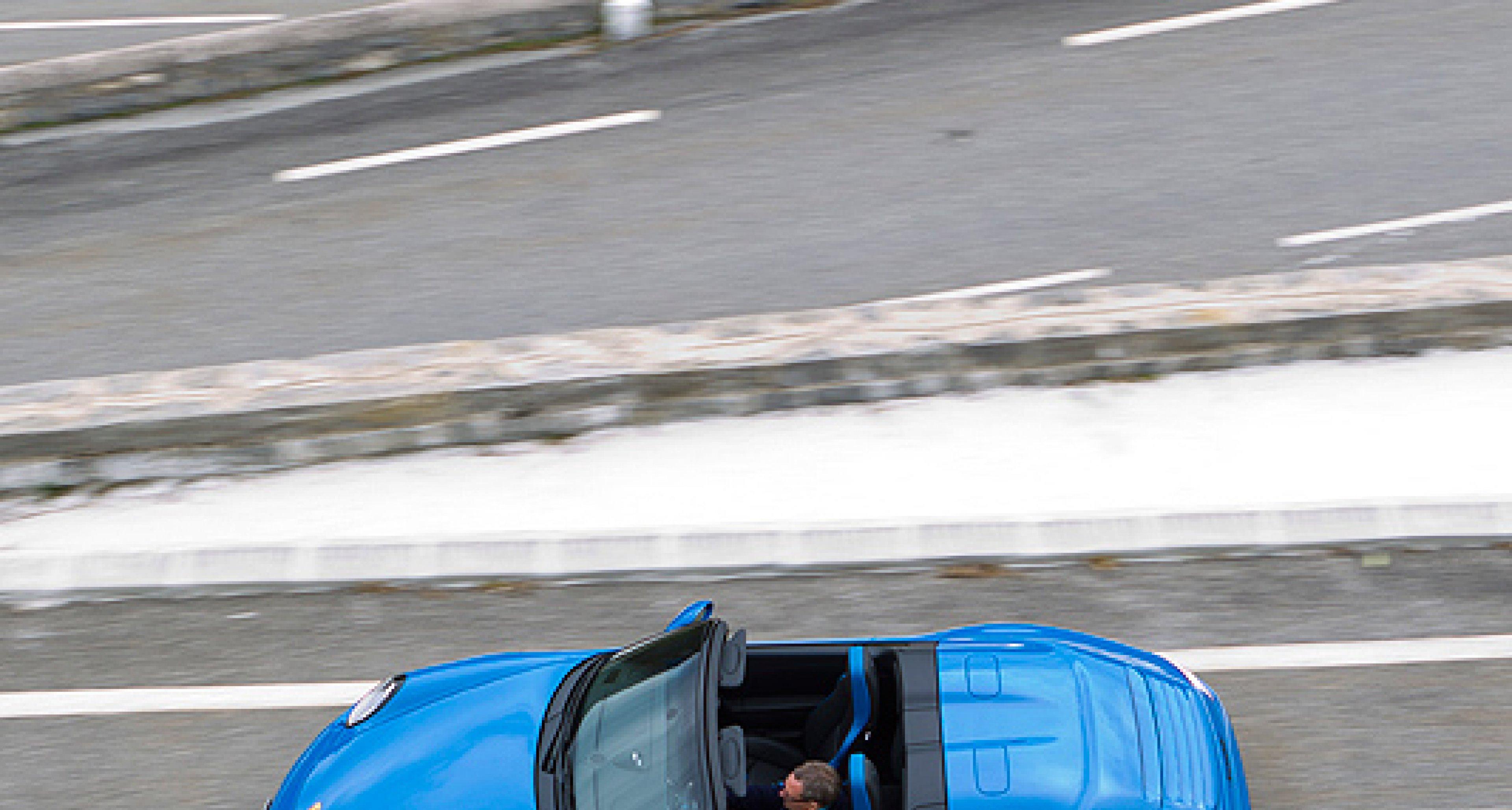 Porsche 911 Speedster: Das Blaue vom Himmel