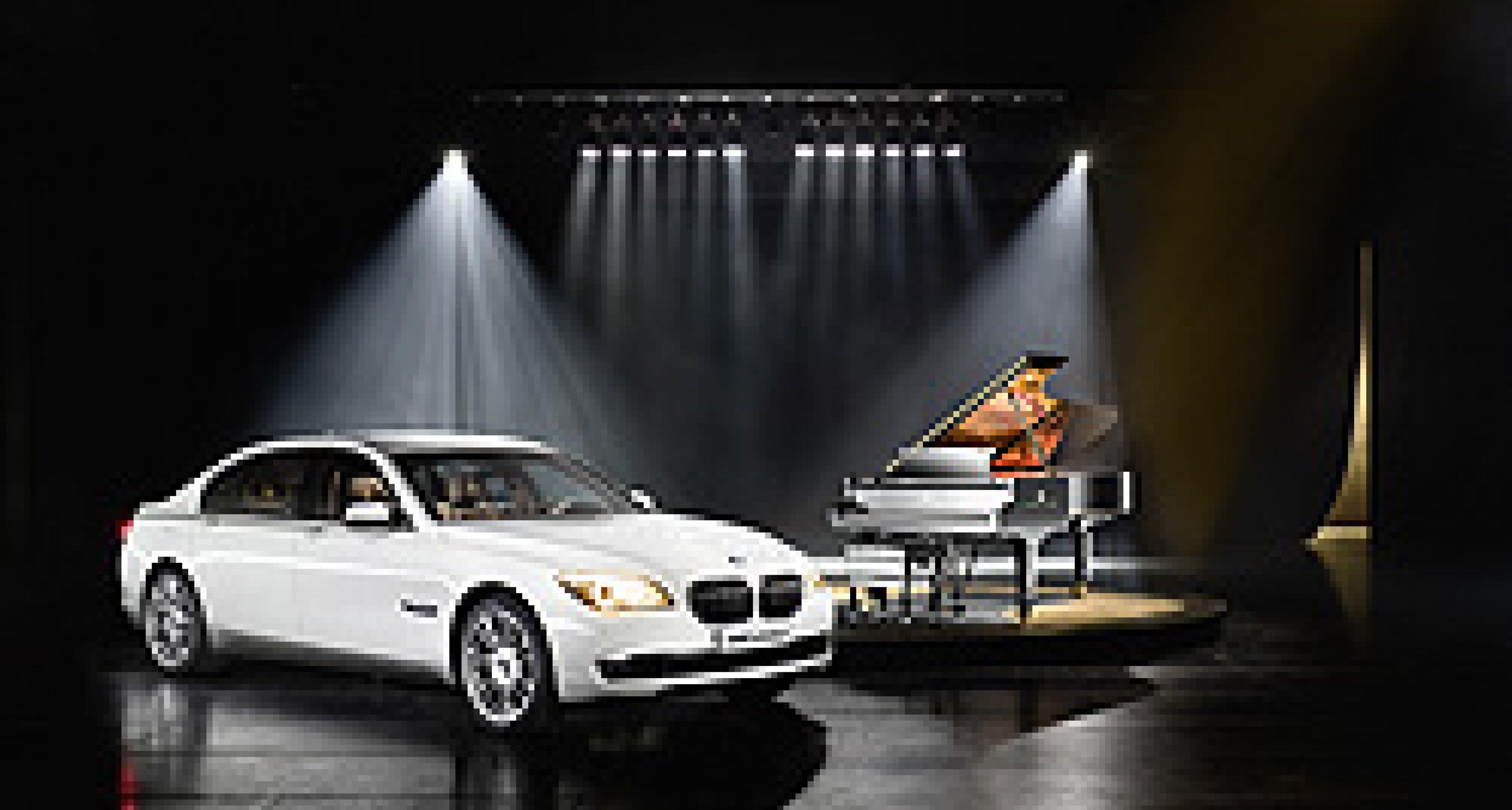 BMW 7er Steinway & Sons: Ebony and Ivory
