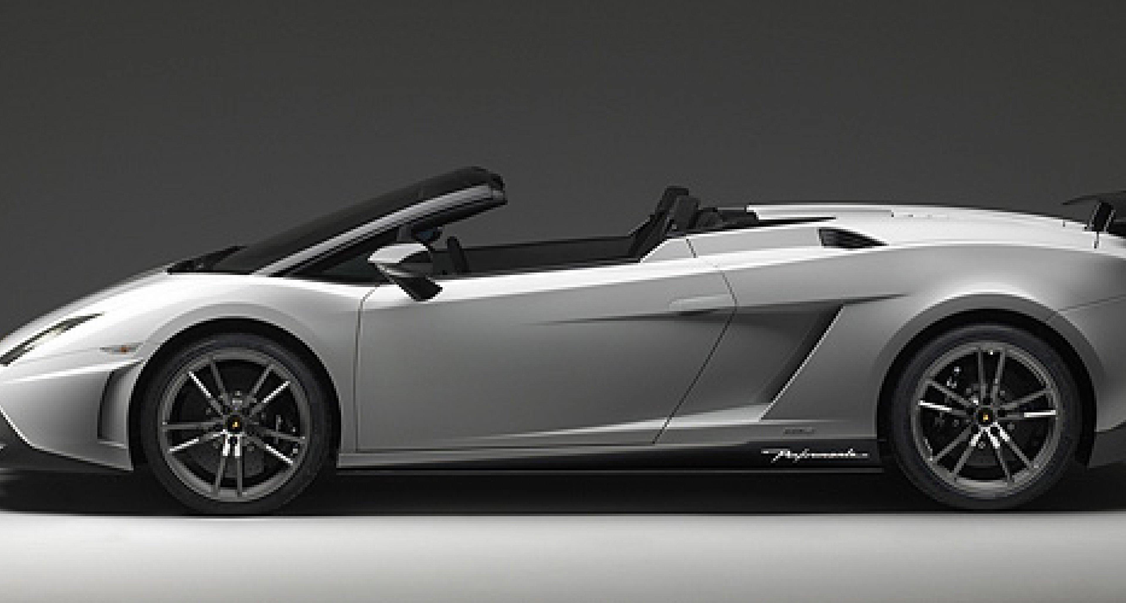 Lamborghini Gallardo LP 570-4 Spyder Performante: Offener Superleggera