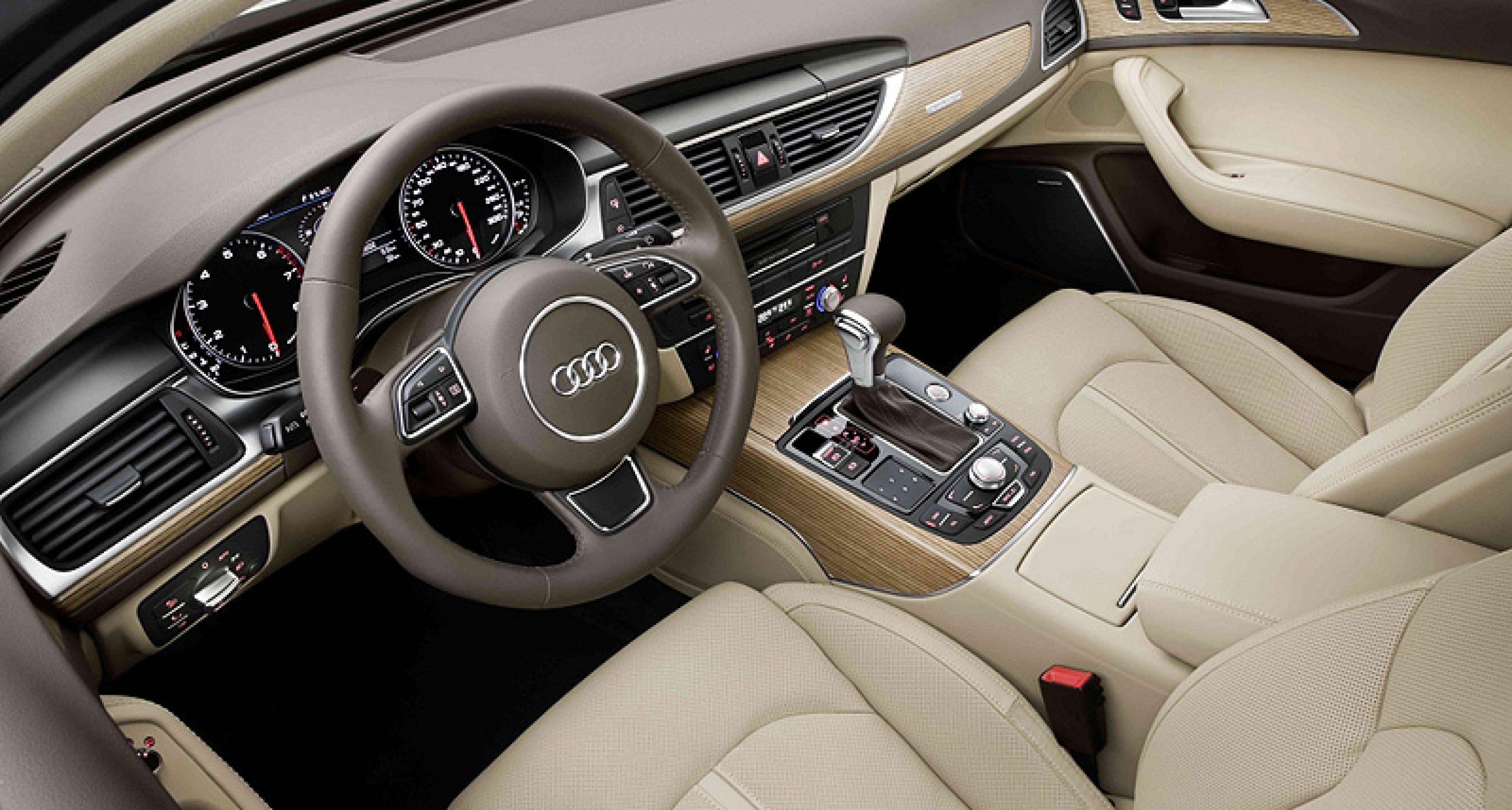 New Audi A6: Light, Rigid, Safe