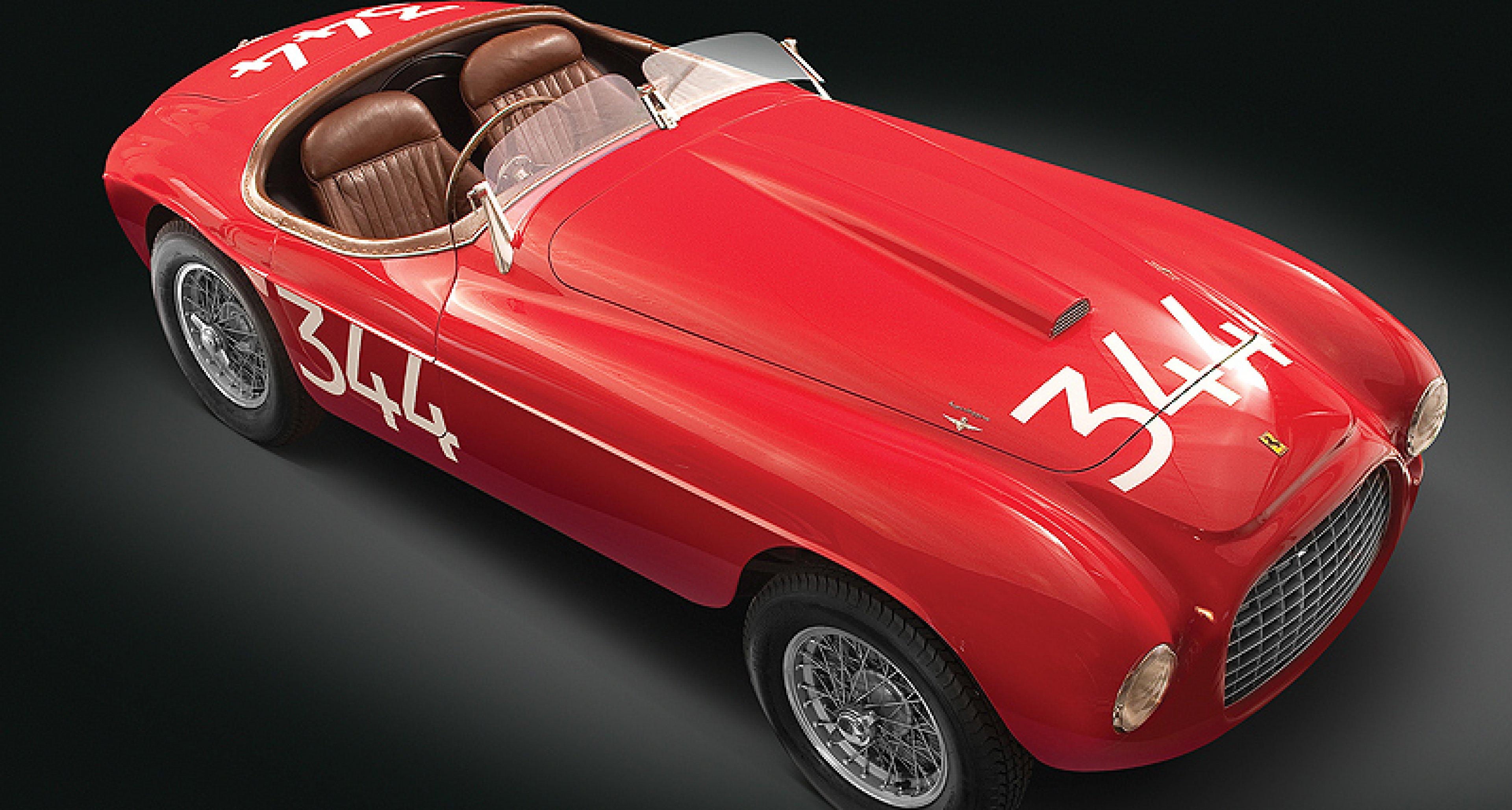 Rm Versteigert Seltenen Ferrari 166 Mm Touring In Arizona Classic Driver Magazine