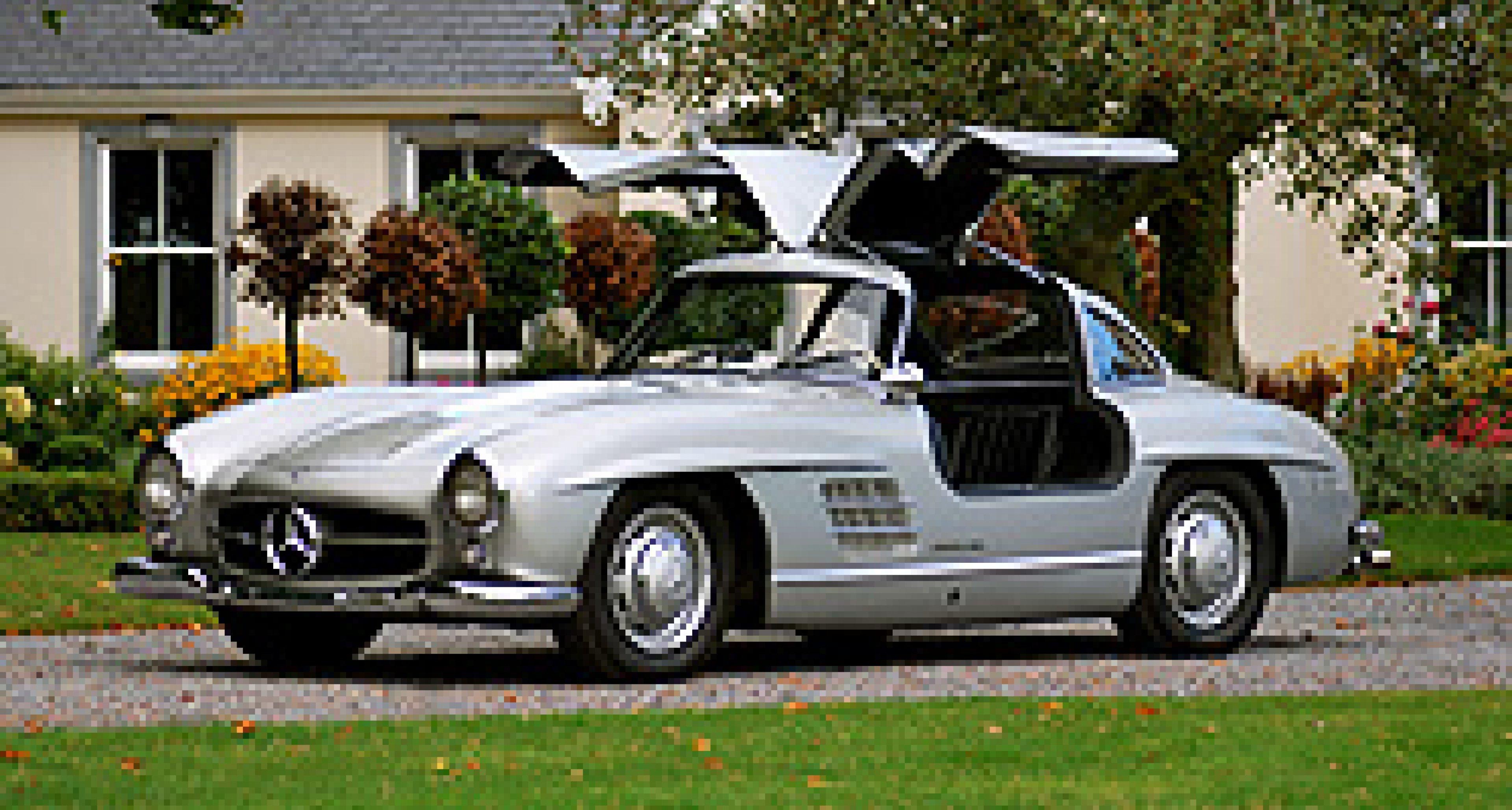 Mercedes-Benz Flügeltürer erzielt Höchstpreis bei Bonhams-Auktion