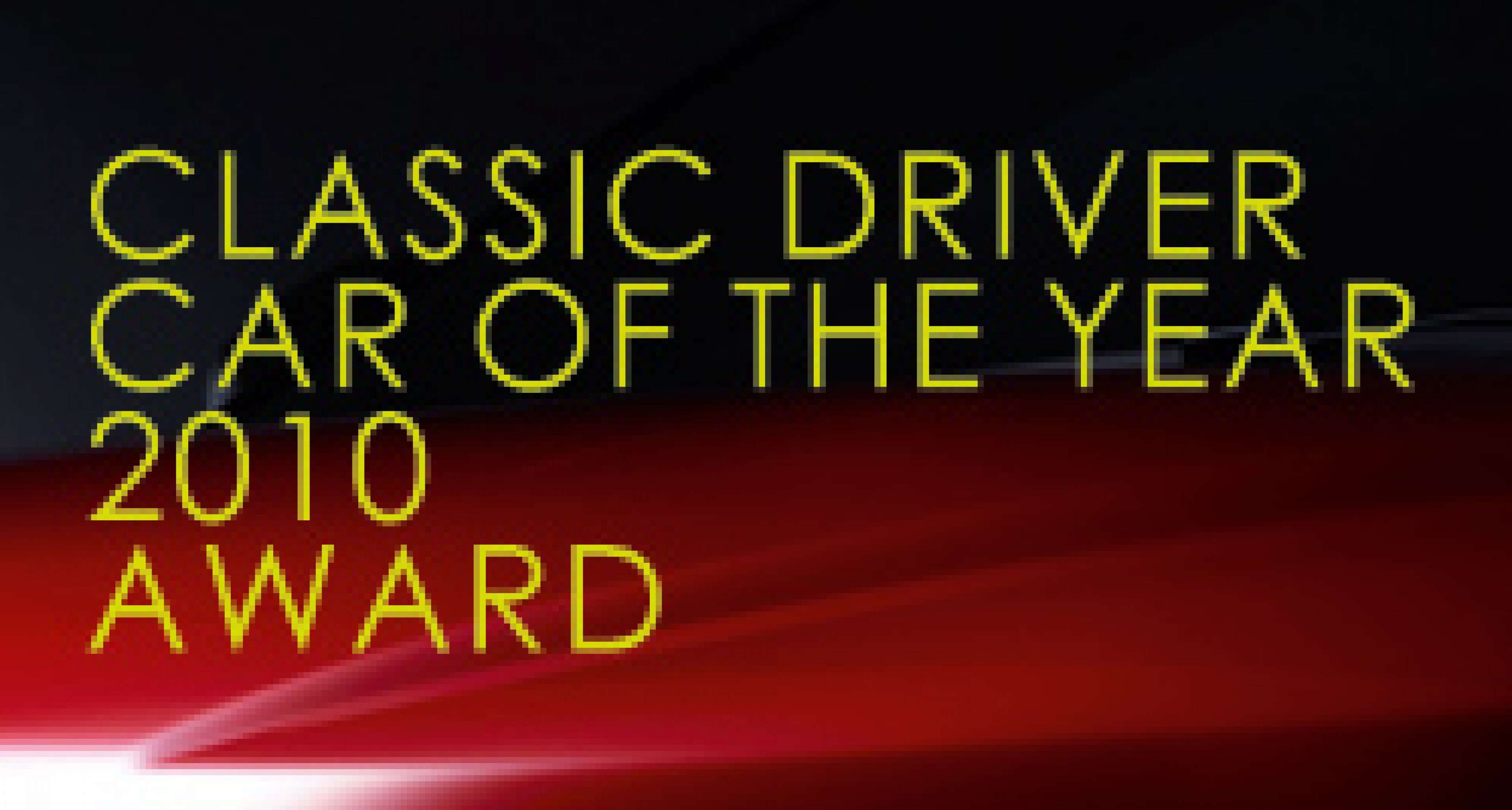 Classic Driver Car of the Year 2010