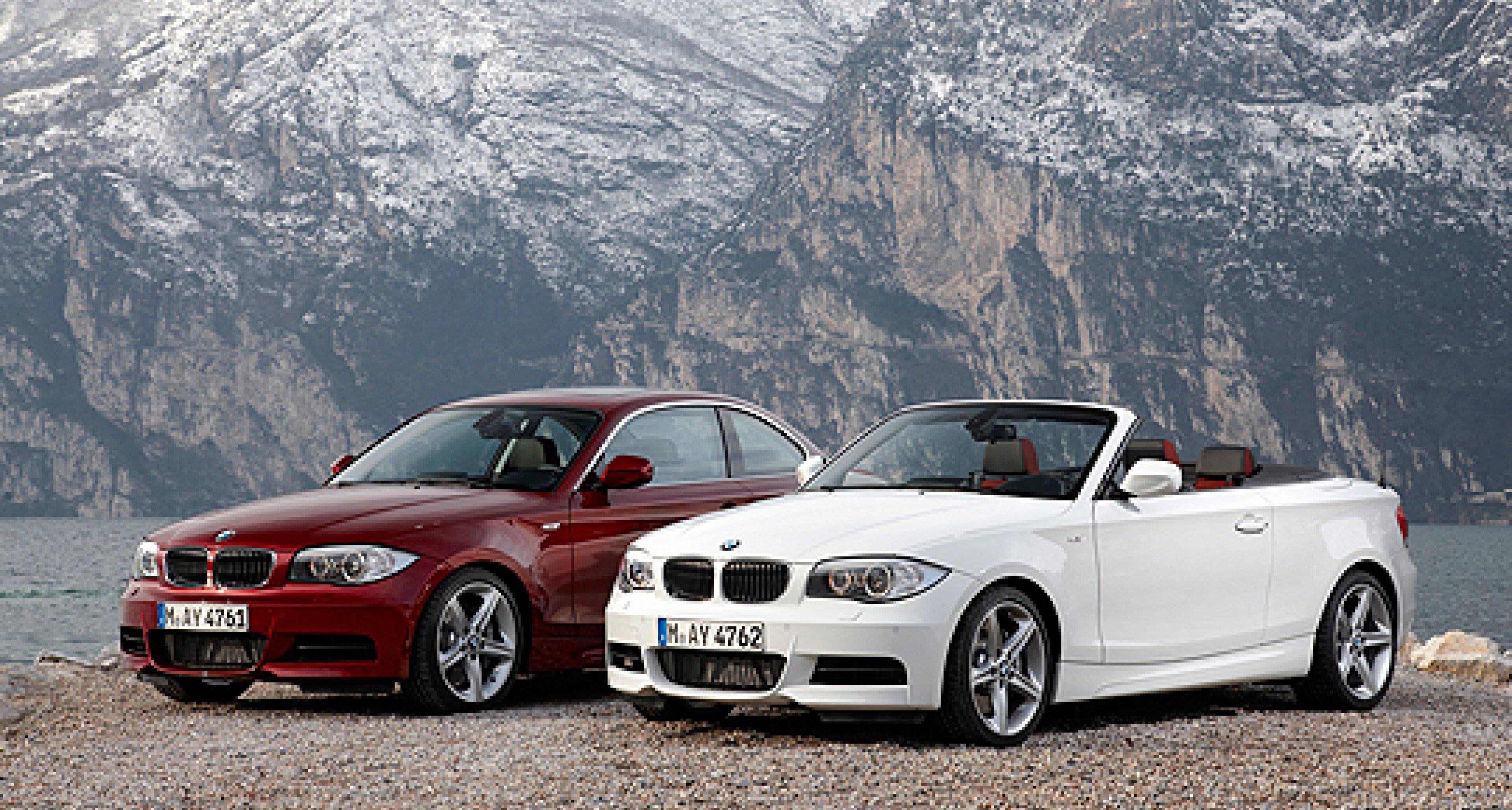 BMW 1er: Facelift für Cabrio und Coupé
