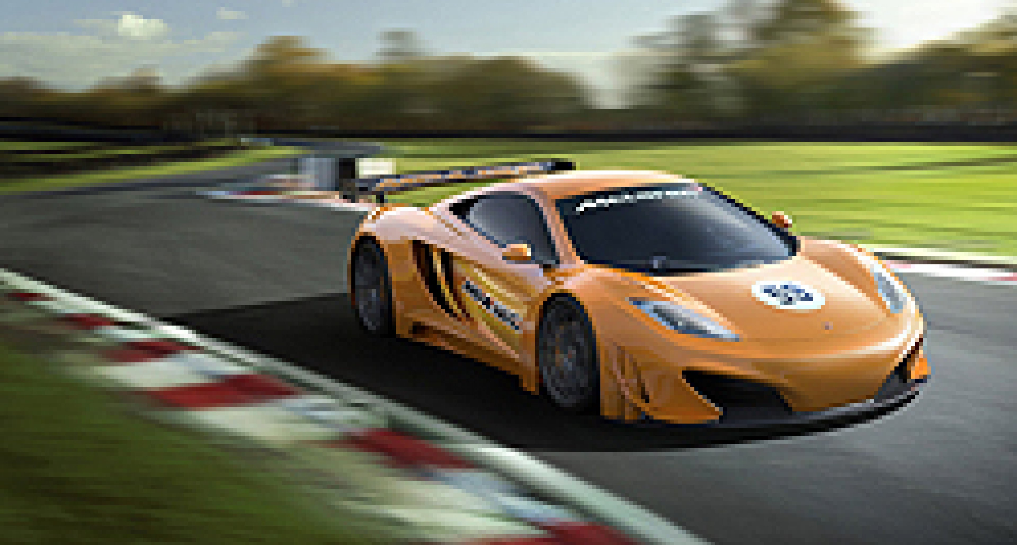 McLaren MP4-12C startet 2012 in der GT3