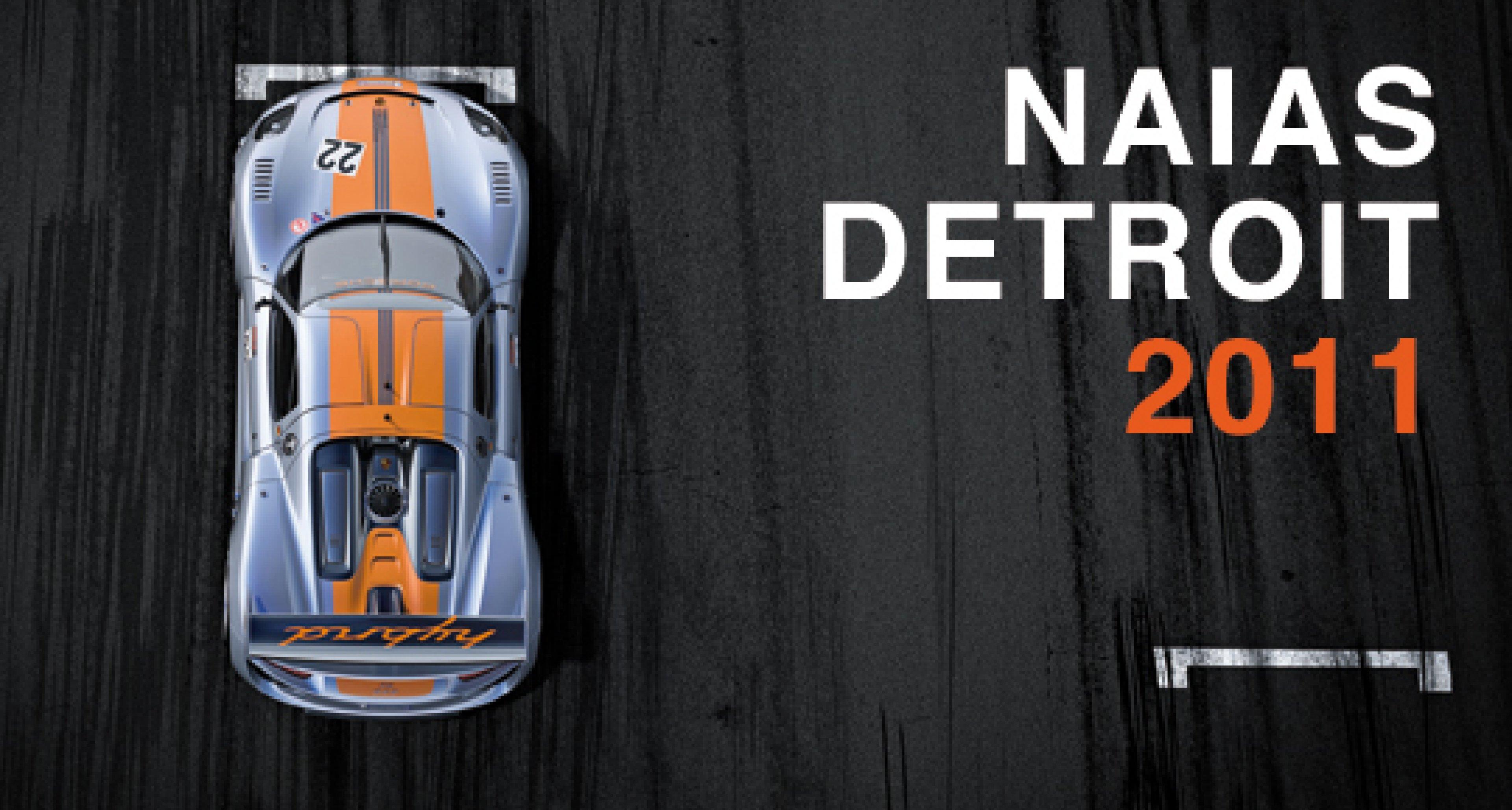 NAIAS Detroit 2011: Premieren im Überblick
