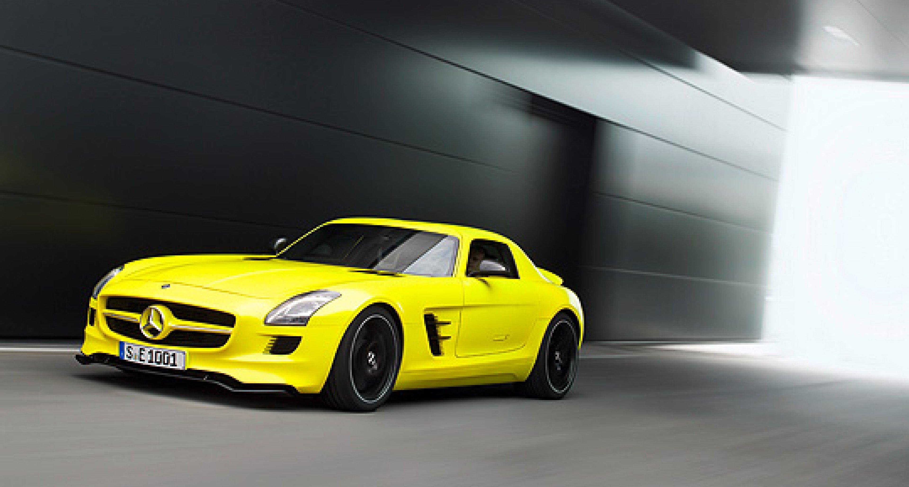 Mercedes-Benz SLS E-Cell geht ins Serie