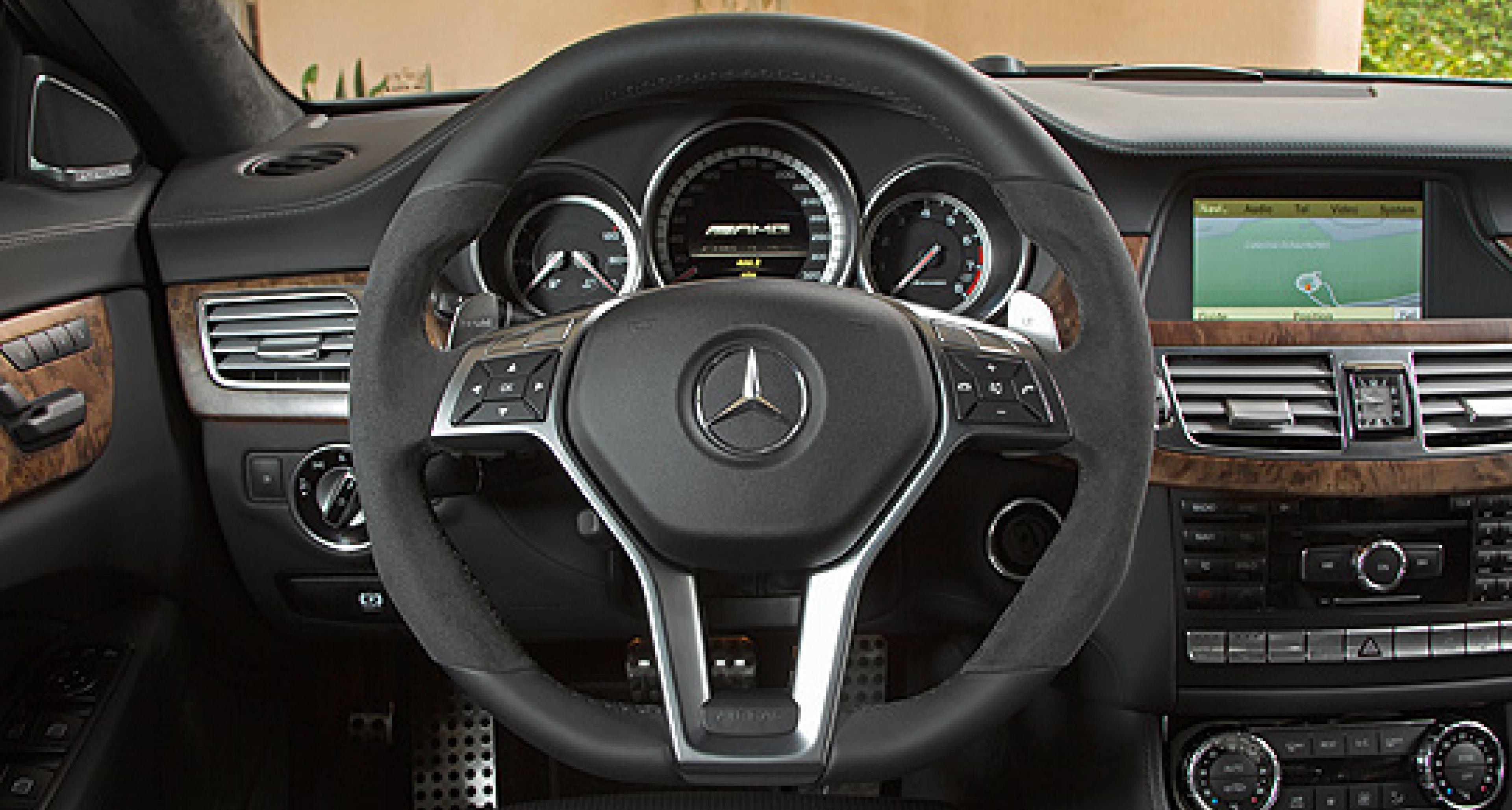 Mercedes-Benz CLS 63 AMG: Coupé unter Hochdruck