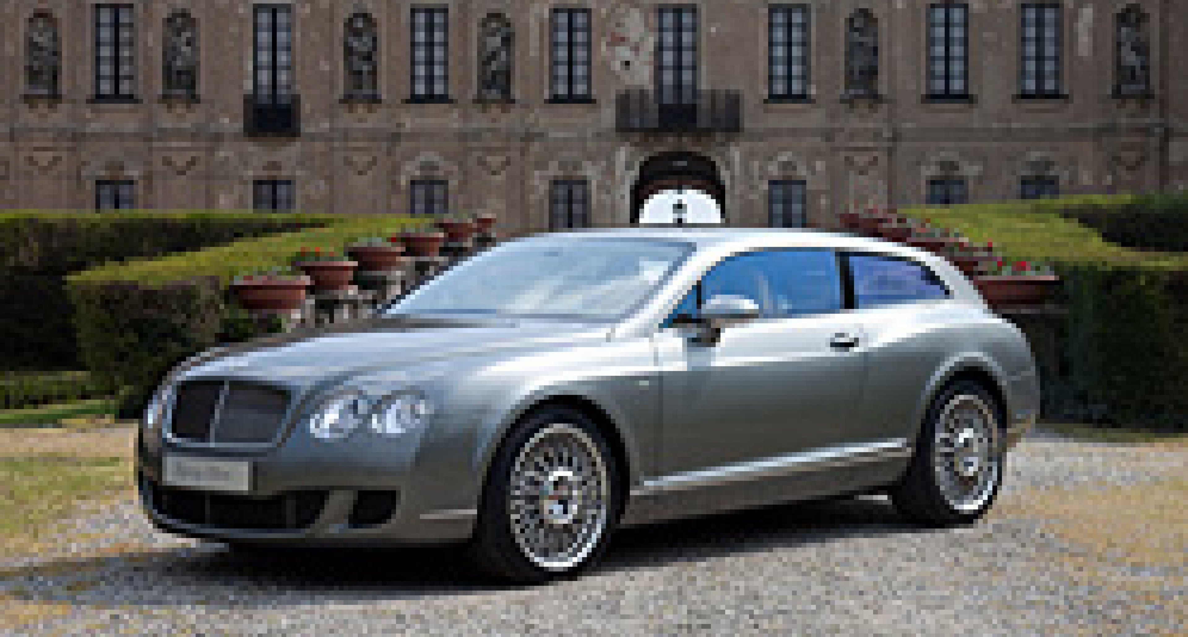 Bentley Continental Flying Star by Touring: Update