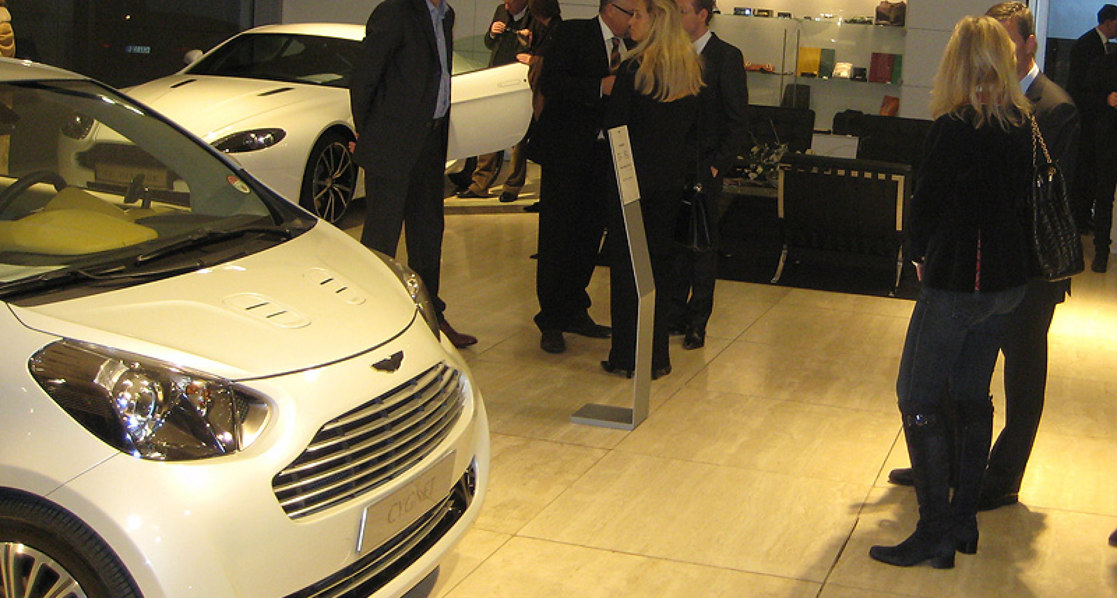 Sneak Preview: Aston Martin Cygnet in Düsseldorf