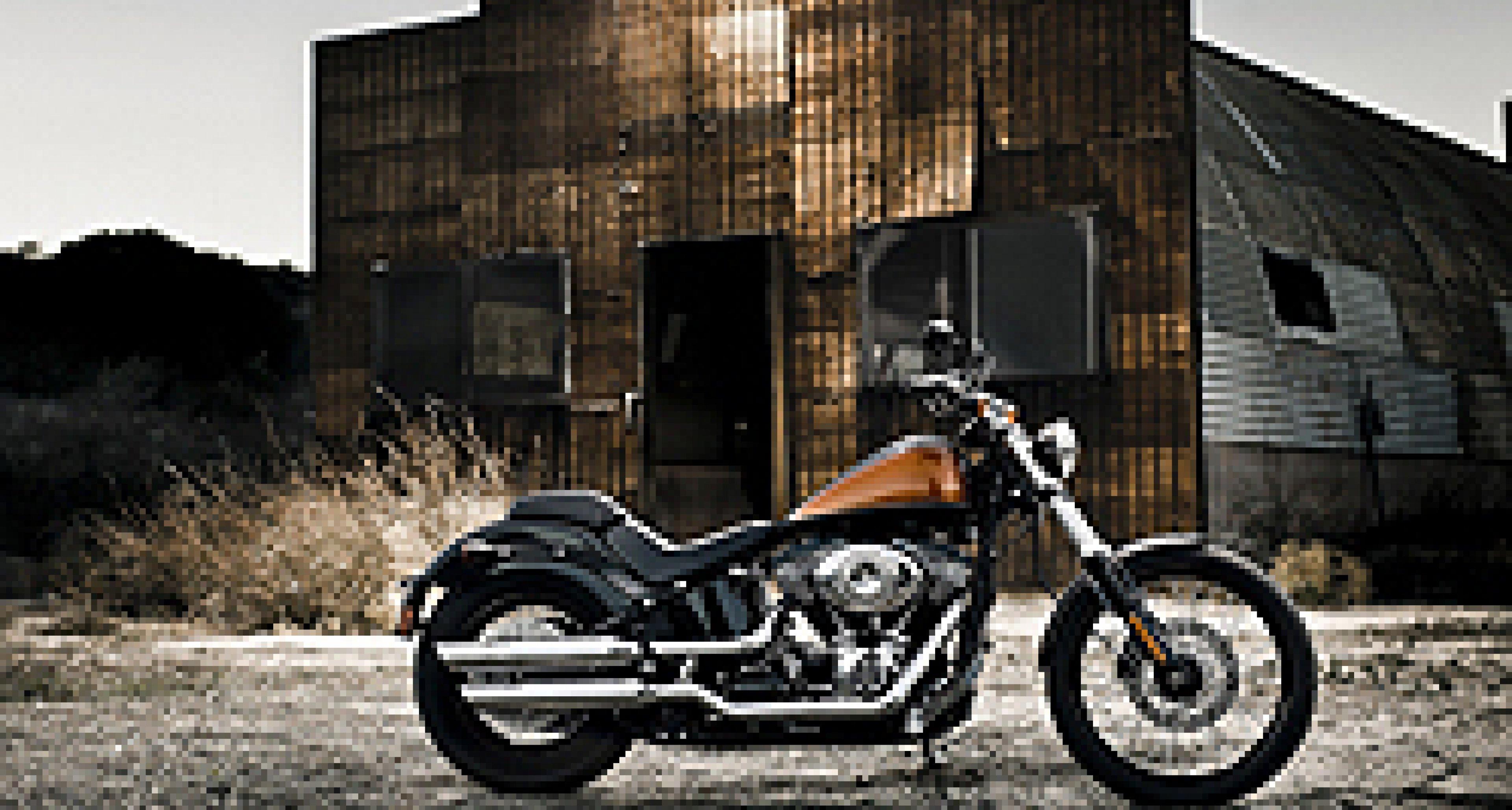 Harley-Davidson Blackline: Düsteres Sondermodell