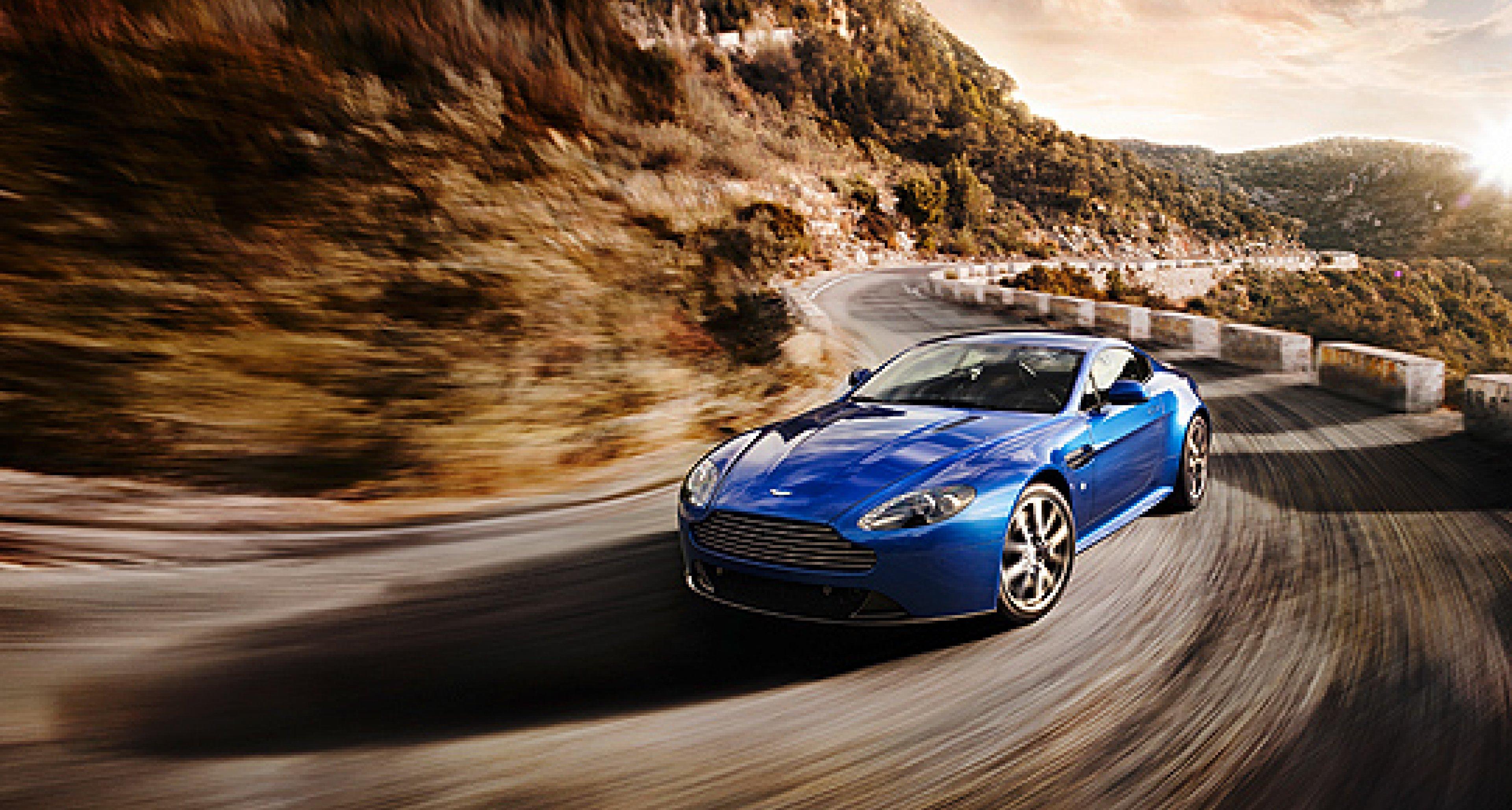 Aston Martin V8 Vantage S: Mehr Leistung, frischer Look
