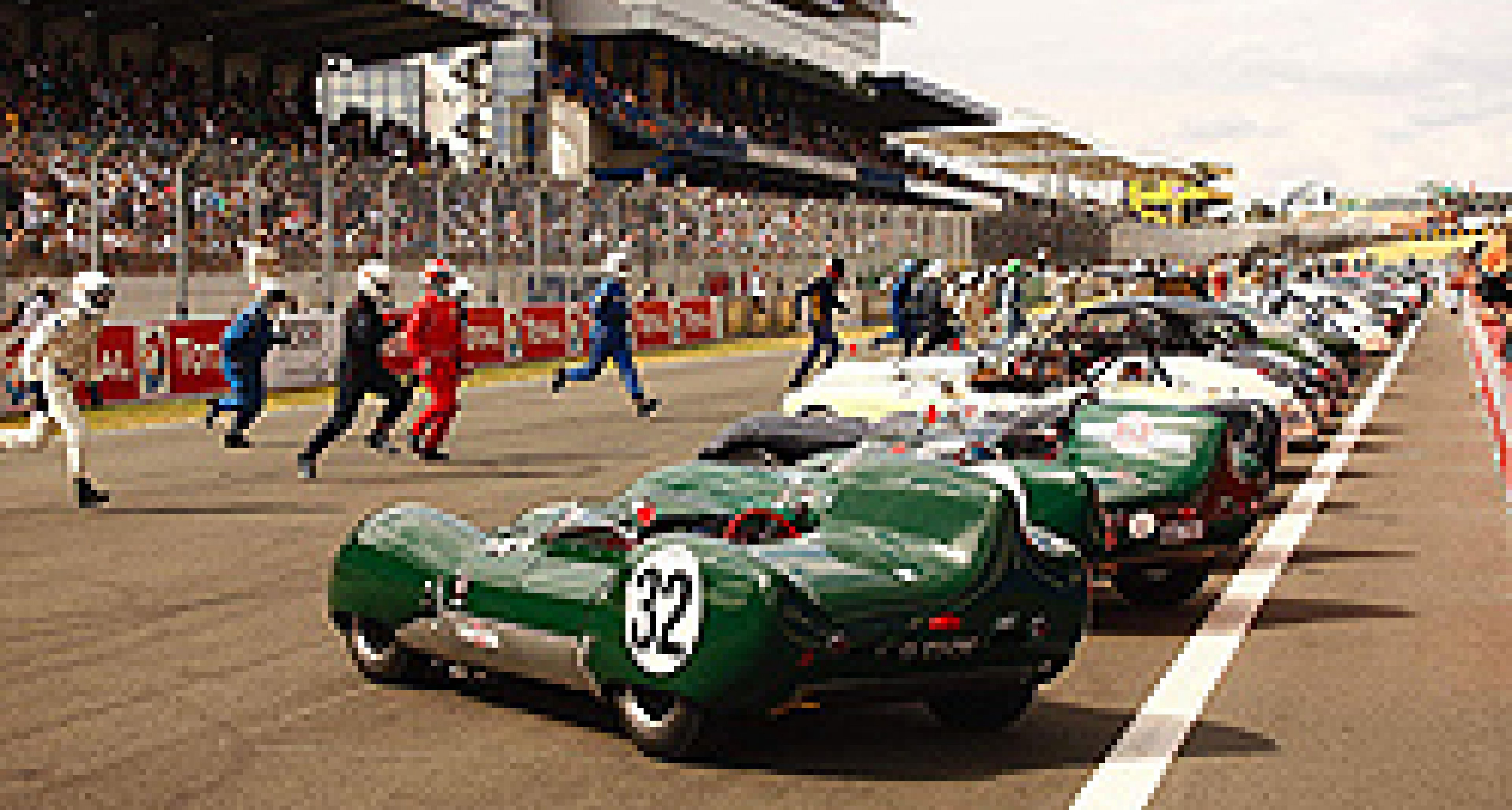 "TV-Serie ""The Drivers"": Mad Men in Le Mans"