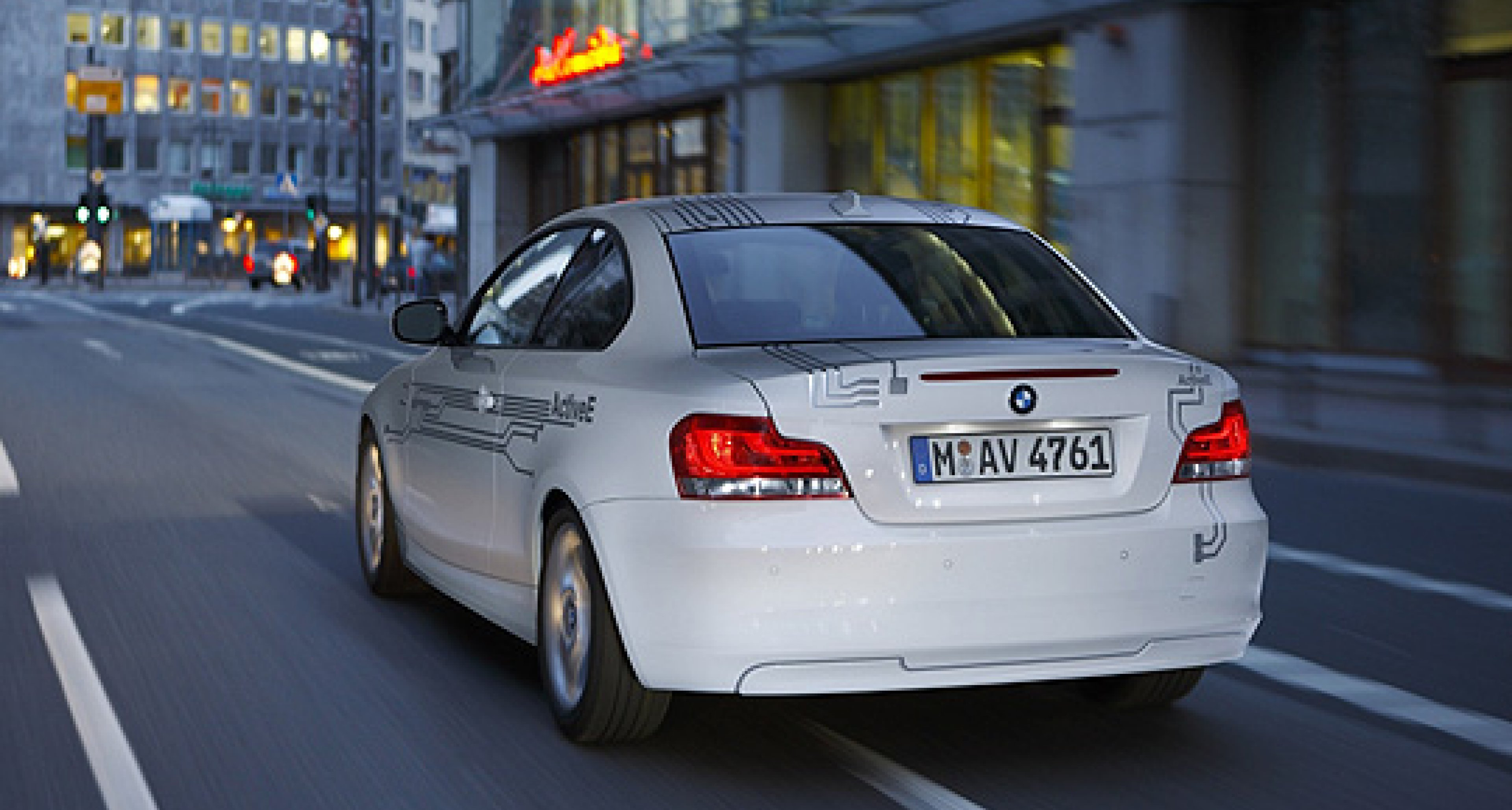 BMW ActiveE: 1er Coupé mit E-Antrieb