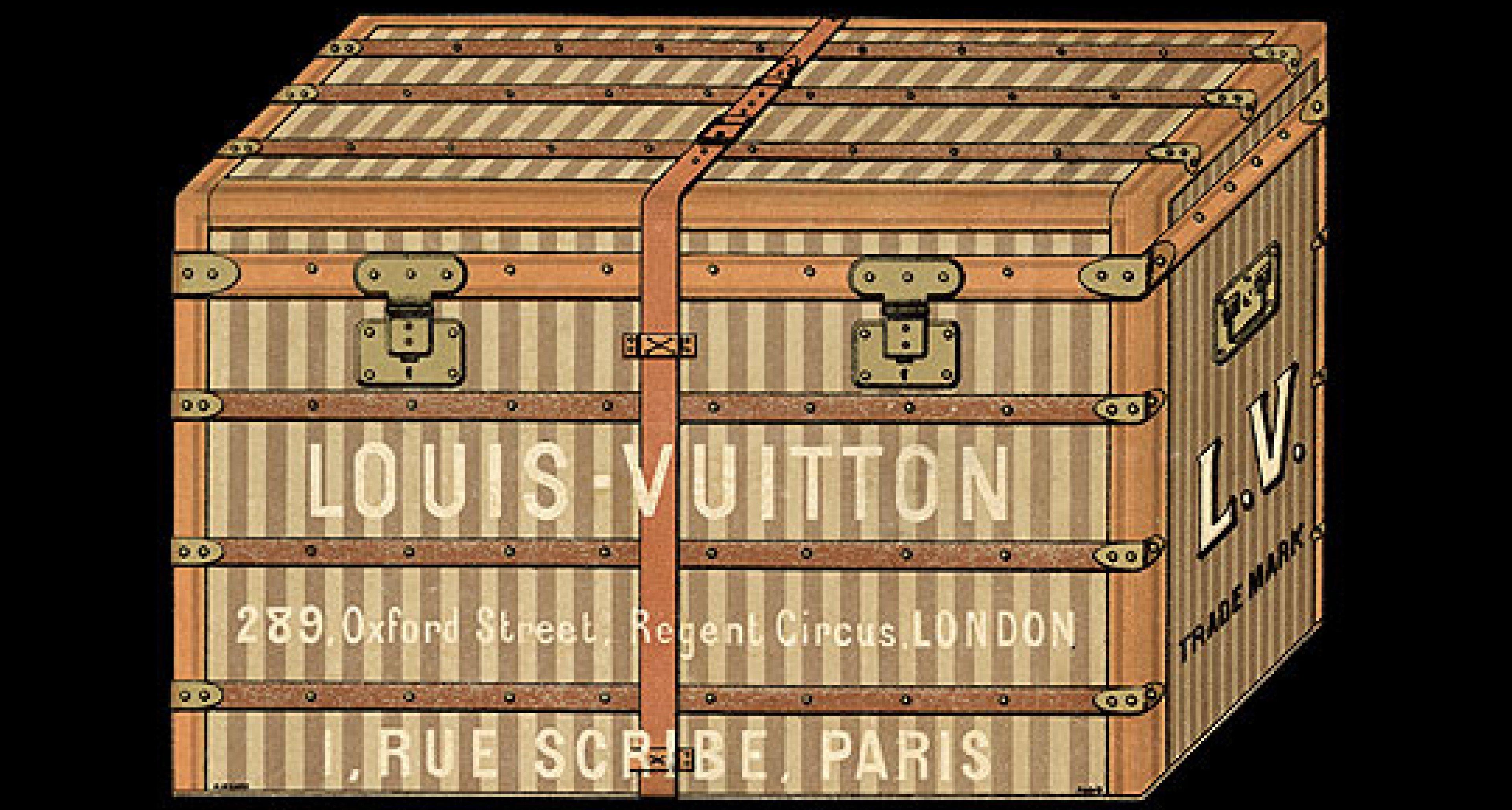 Louis Vuitton Reisegepäck: Wo sind all die Koffer hin?