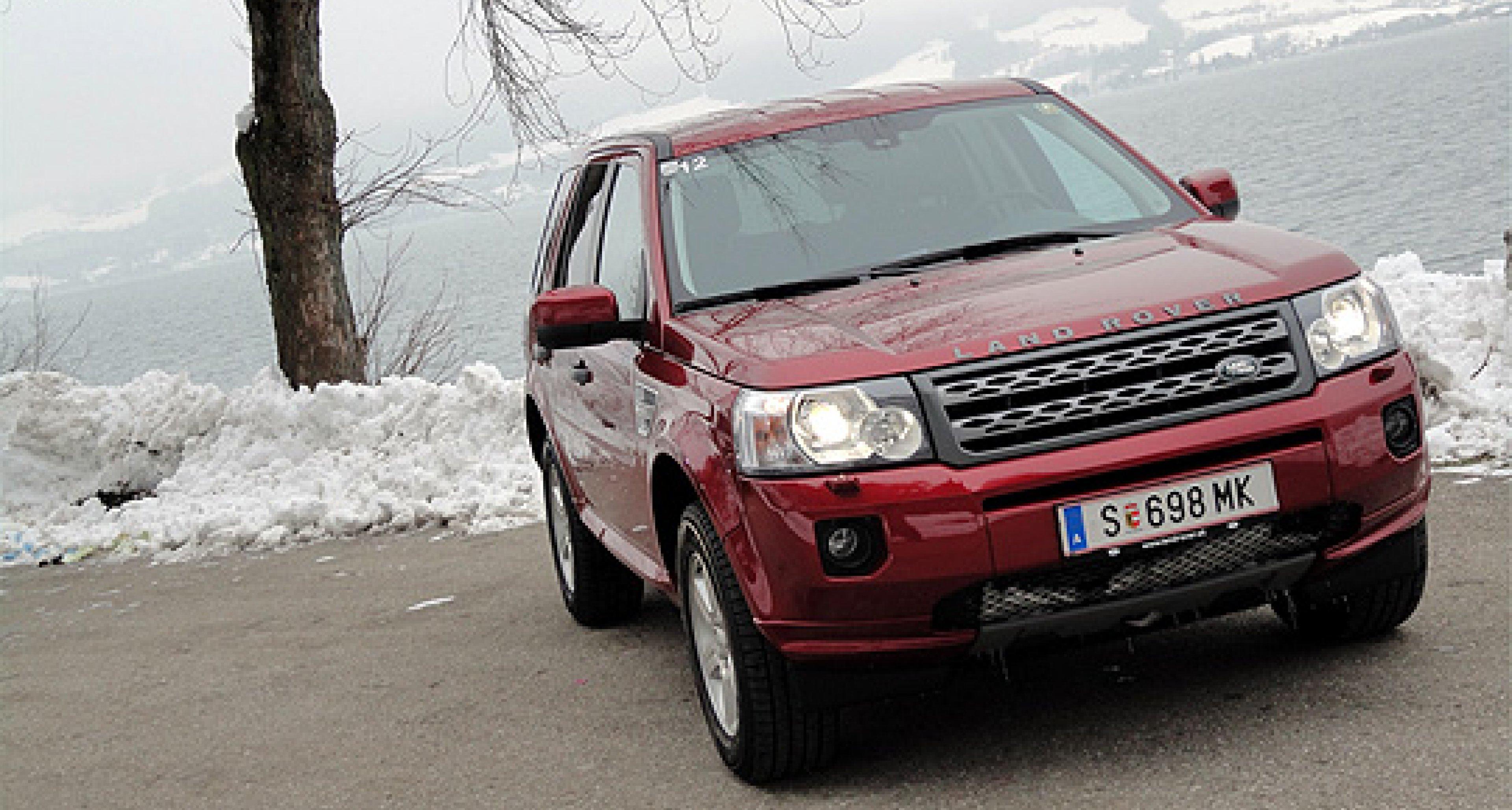 Land Rover Freelander: Der kleine Schneekönig