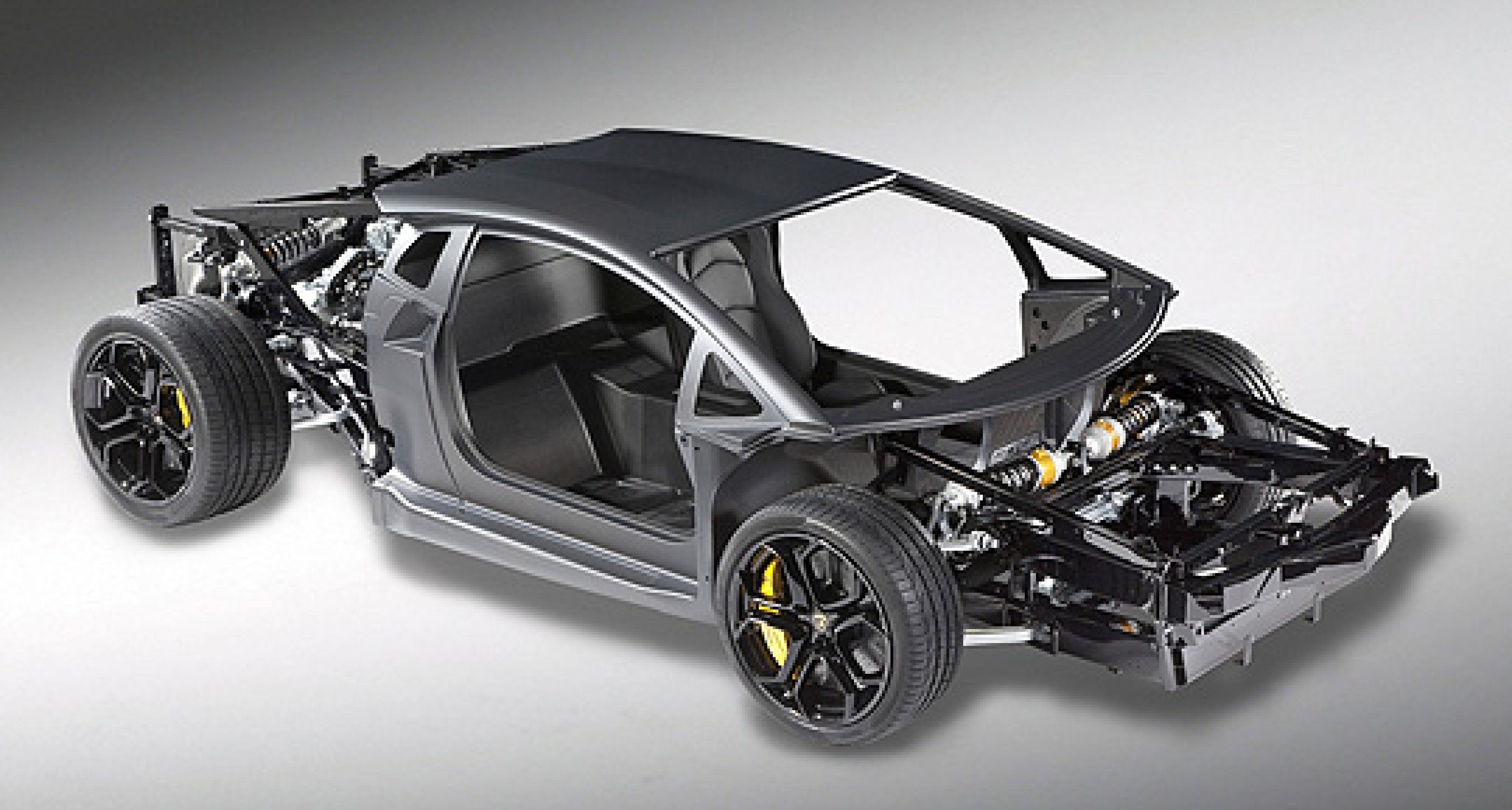 Carbon macht den neuen Lamborghini leicht