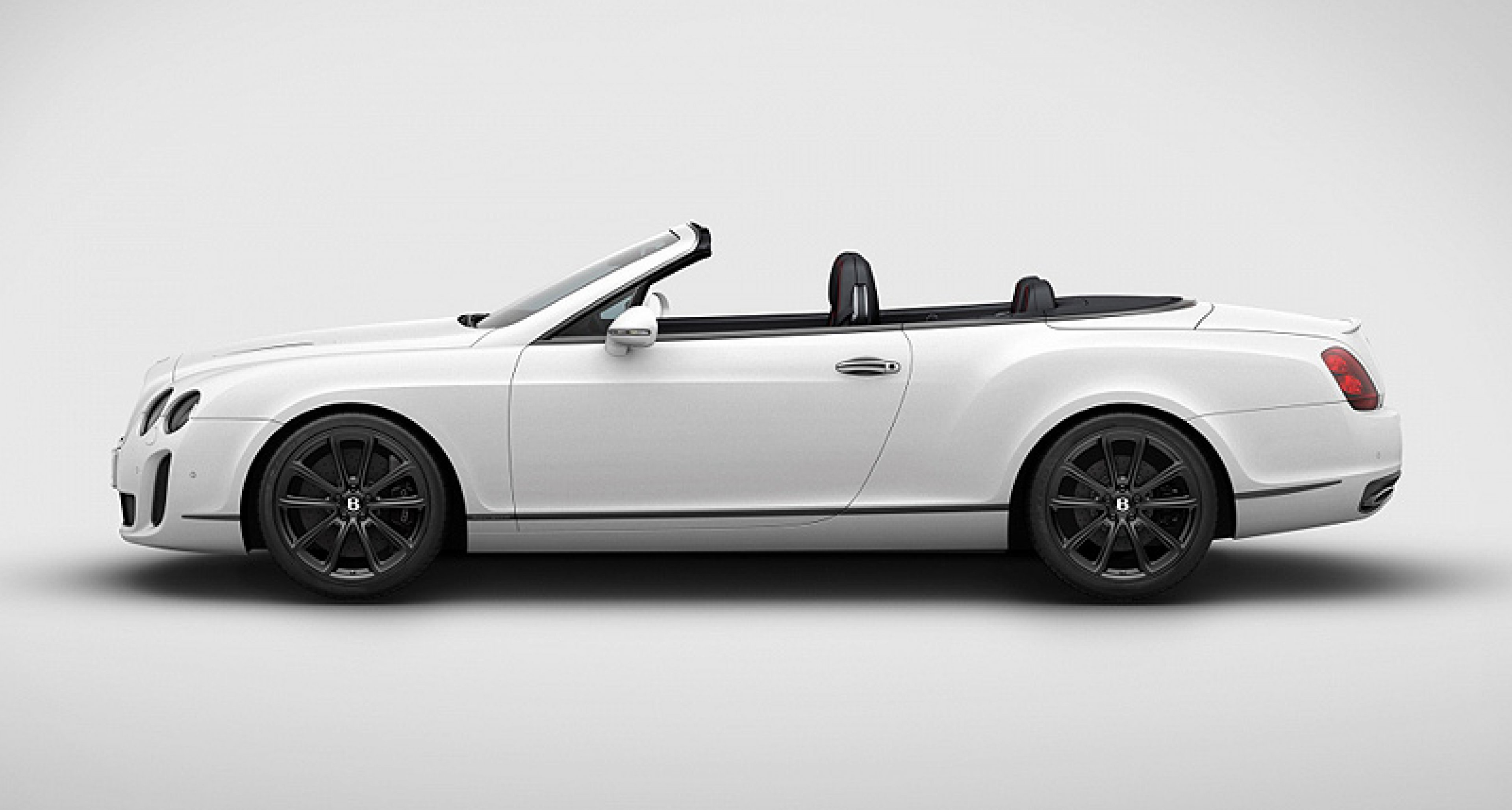 Bentley Supersports Convertible Ice Speed Record