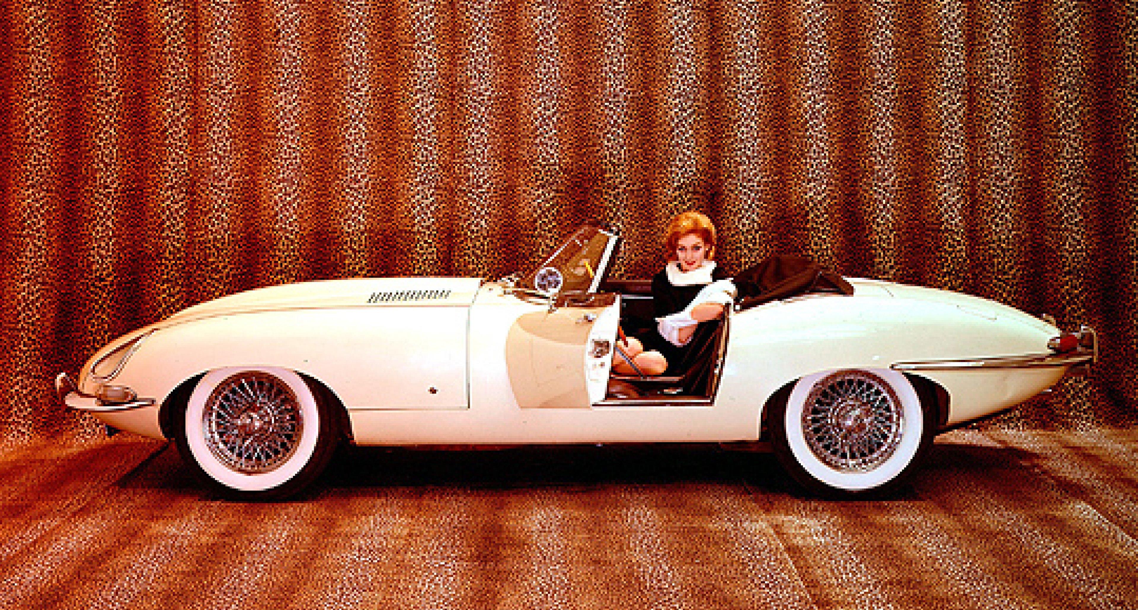 50 Jahre Jaguar E-Type: Jubiläumsfahrt in Genf