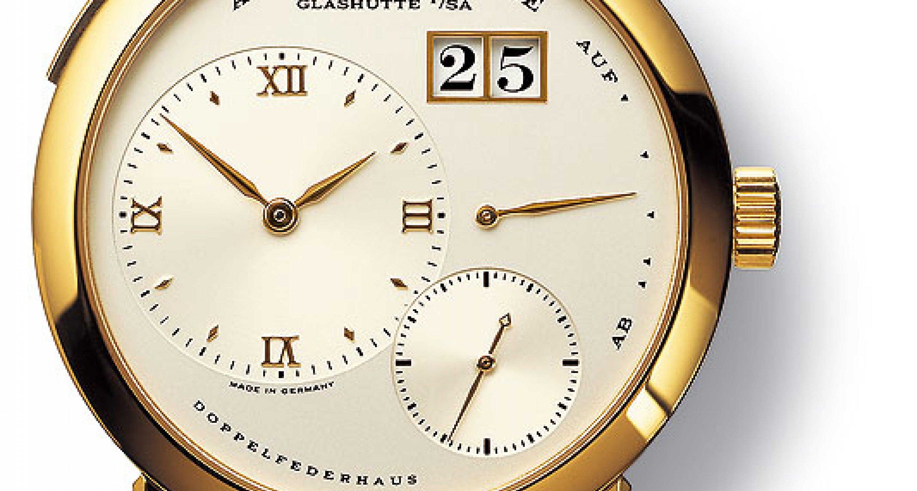 Ikonen der Uhrengeschichte No. 10: Lange & Söhne Lange 1