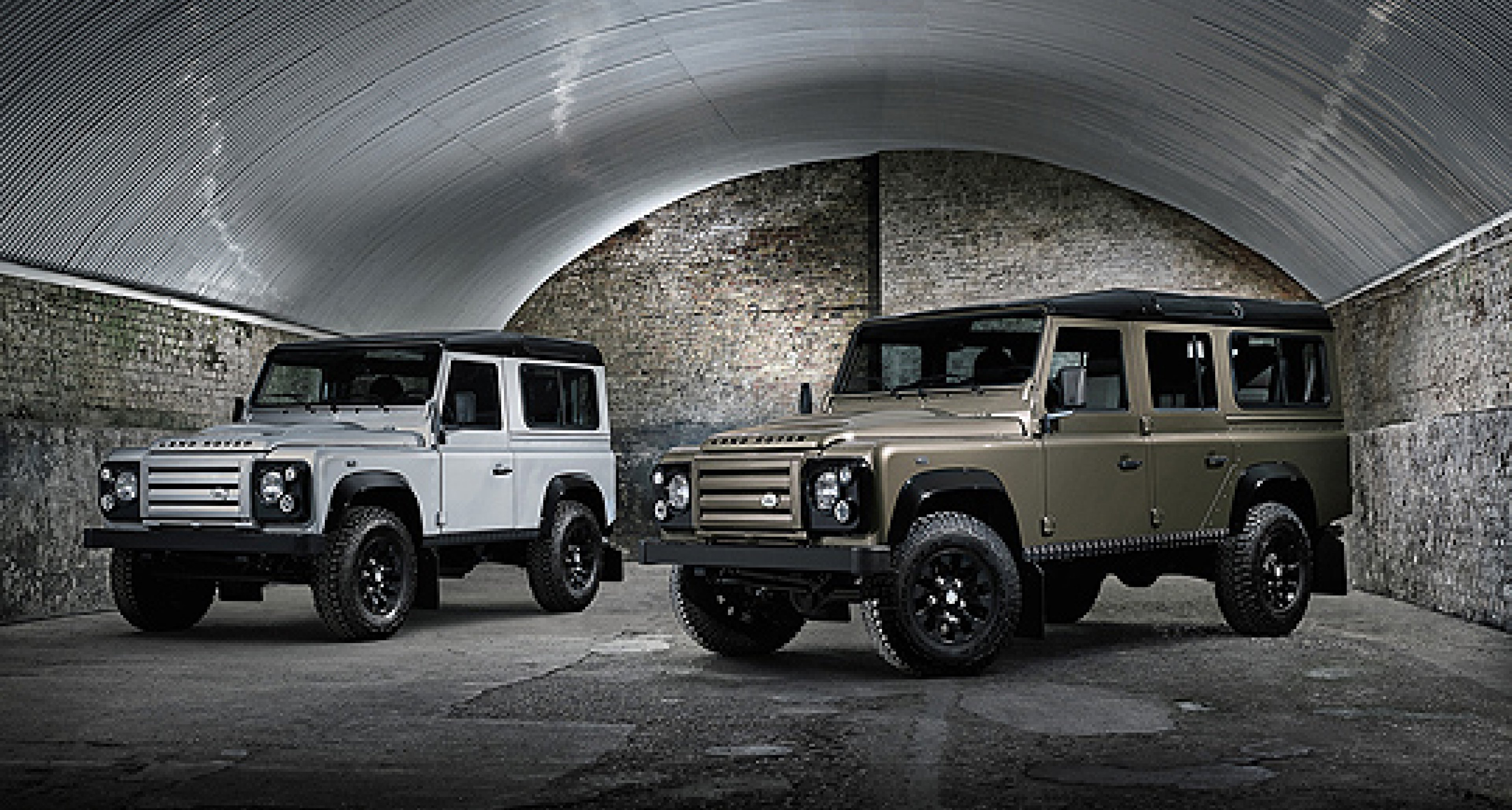 Land Rover Defender Rough: Rauer Bursche