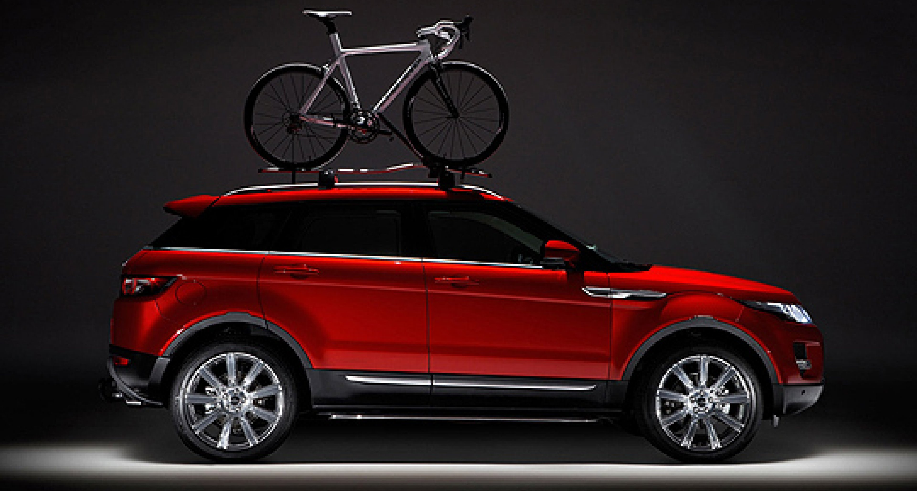 Evoque on Two Wheels