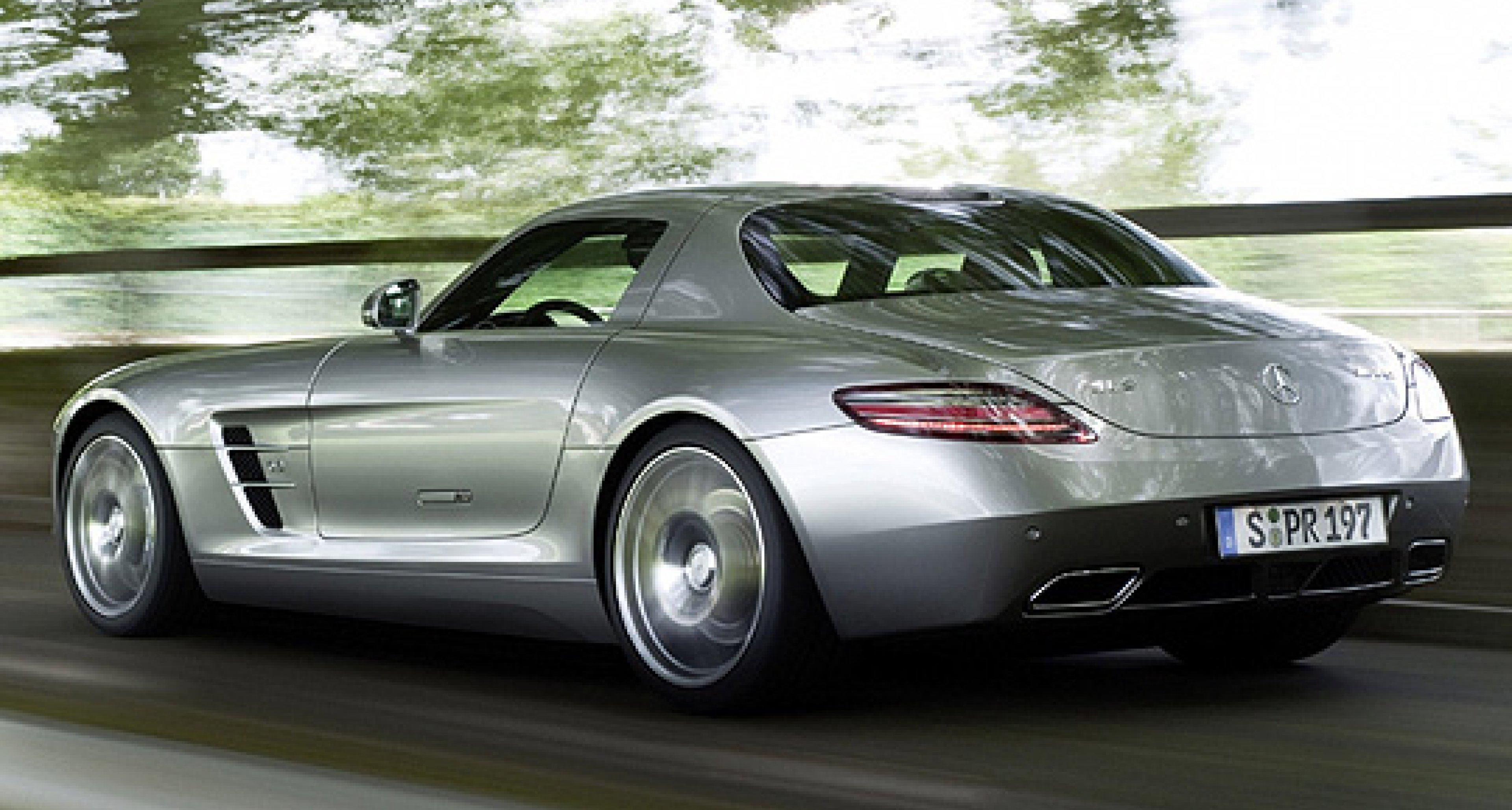 Plant Mercedes-Benz einen Mini-SLS ohne Flügel?