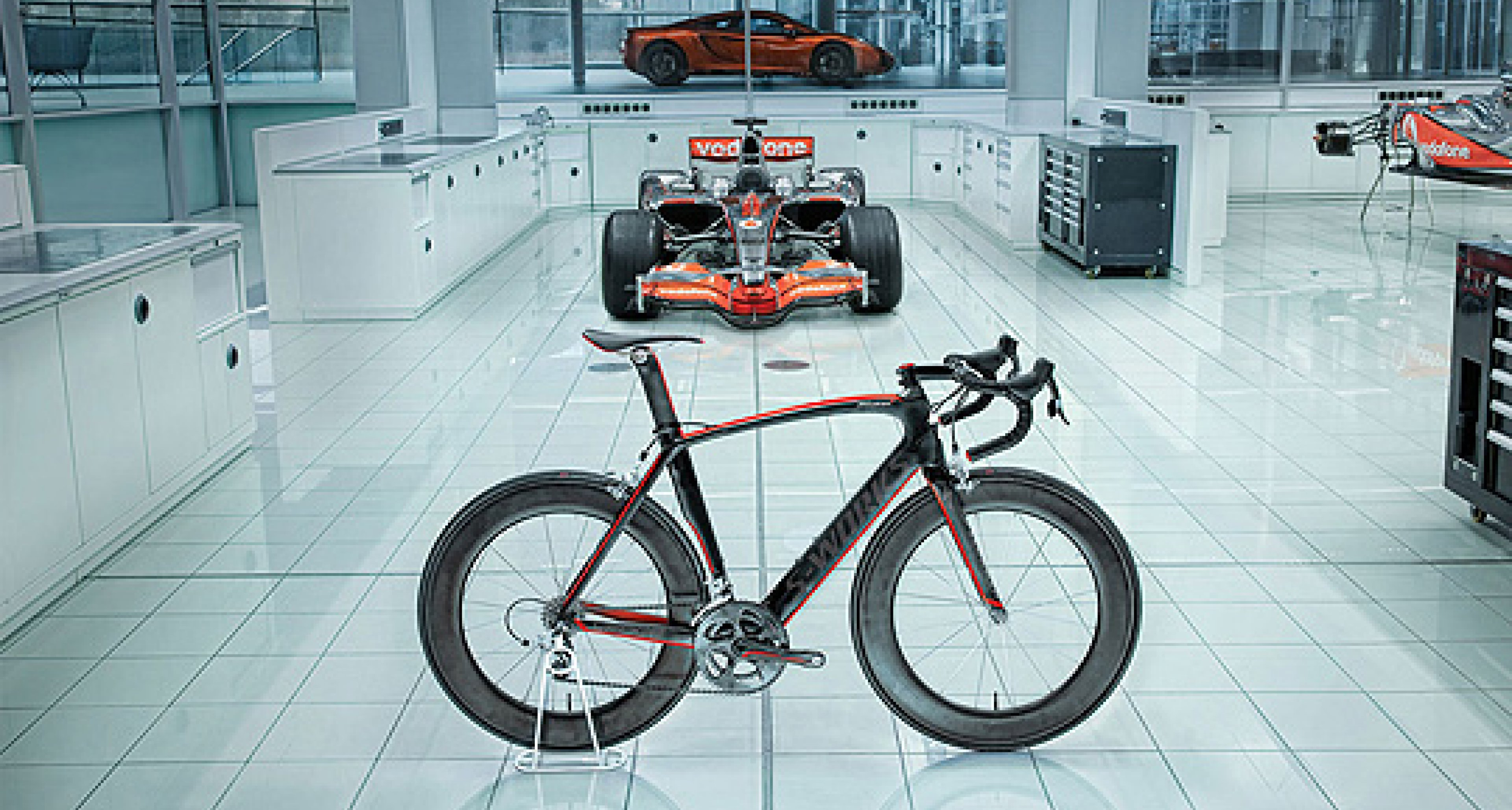 McLaren Venge: F1 Pedal Power
