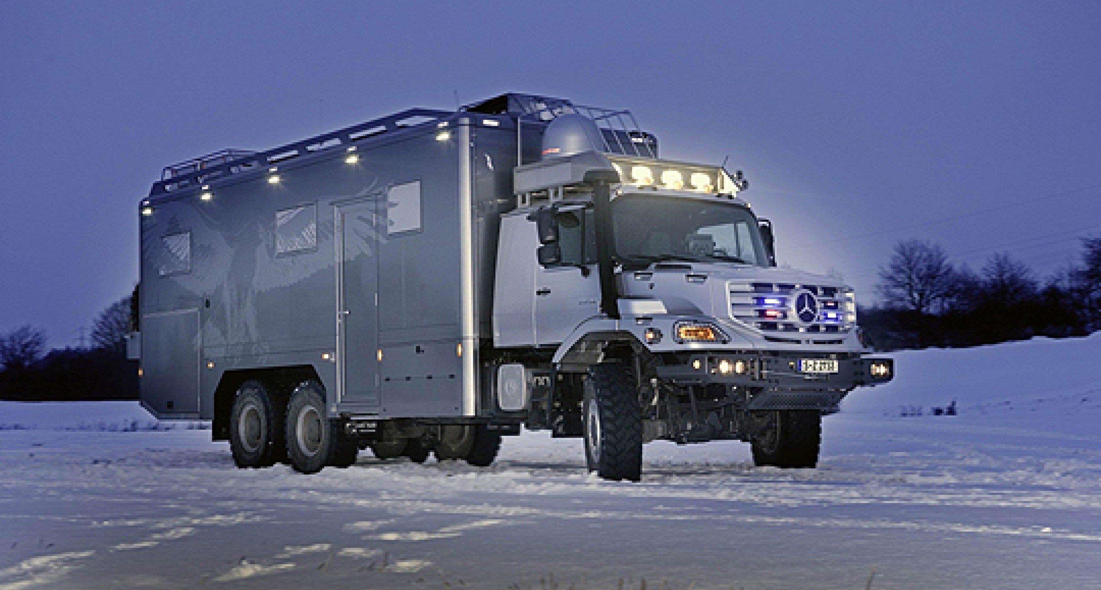 Mercedes-Benz Zetros 6x6: Der Herr der Wildnis