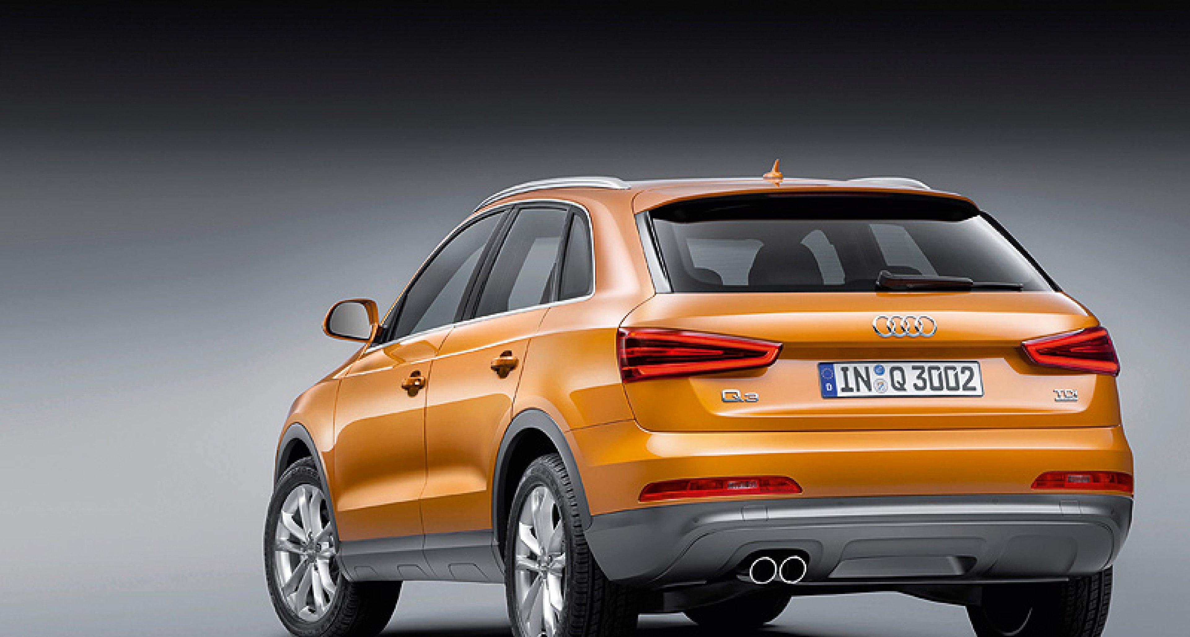 New Audi Q3 Revealed