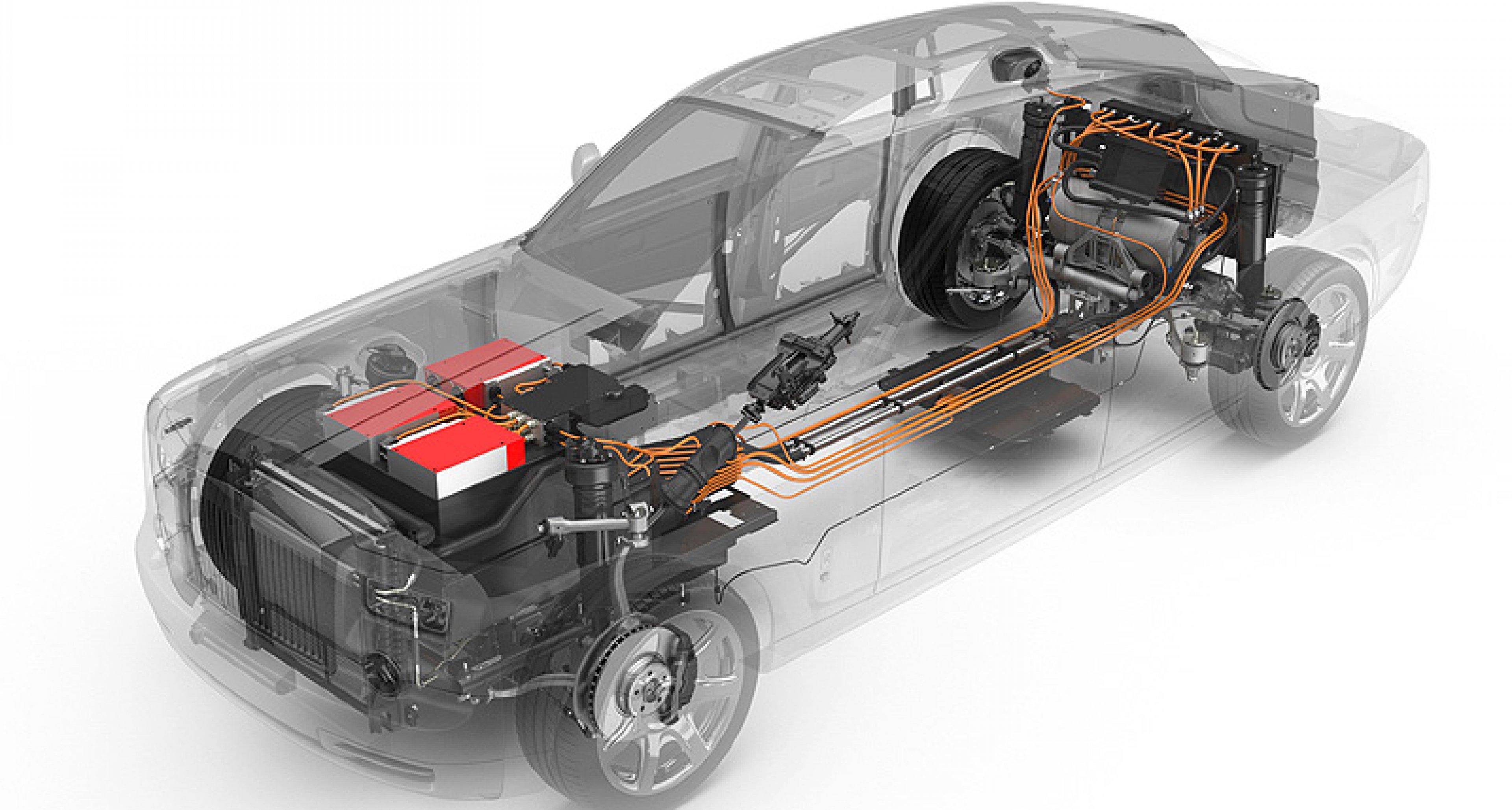 Rolls-Royce 102 EX: Auf leisen Sohlen