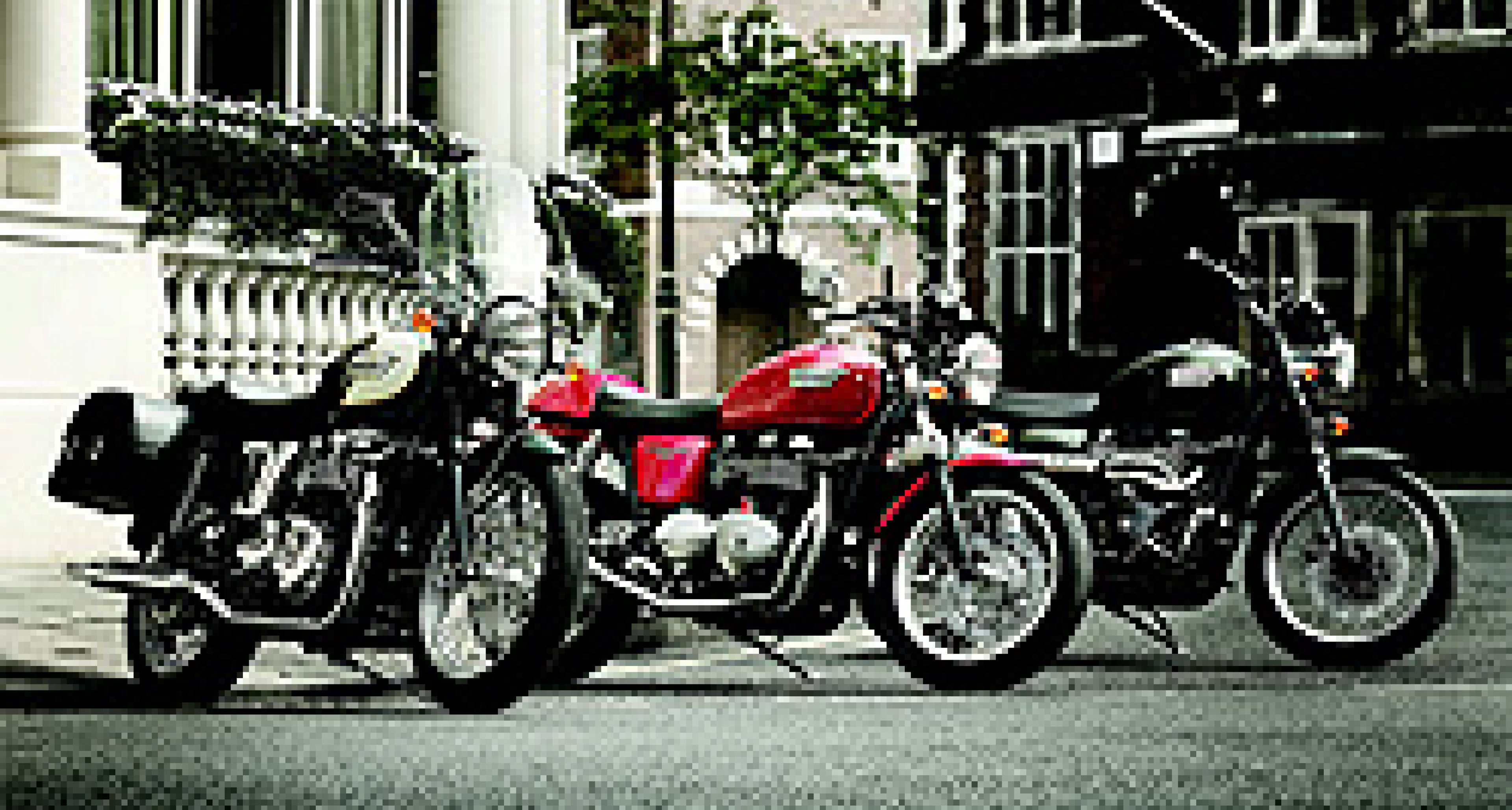 Classic Triumph Motorcycles: from Bonneville to Scrambler