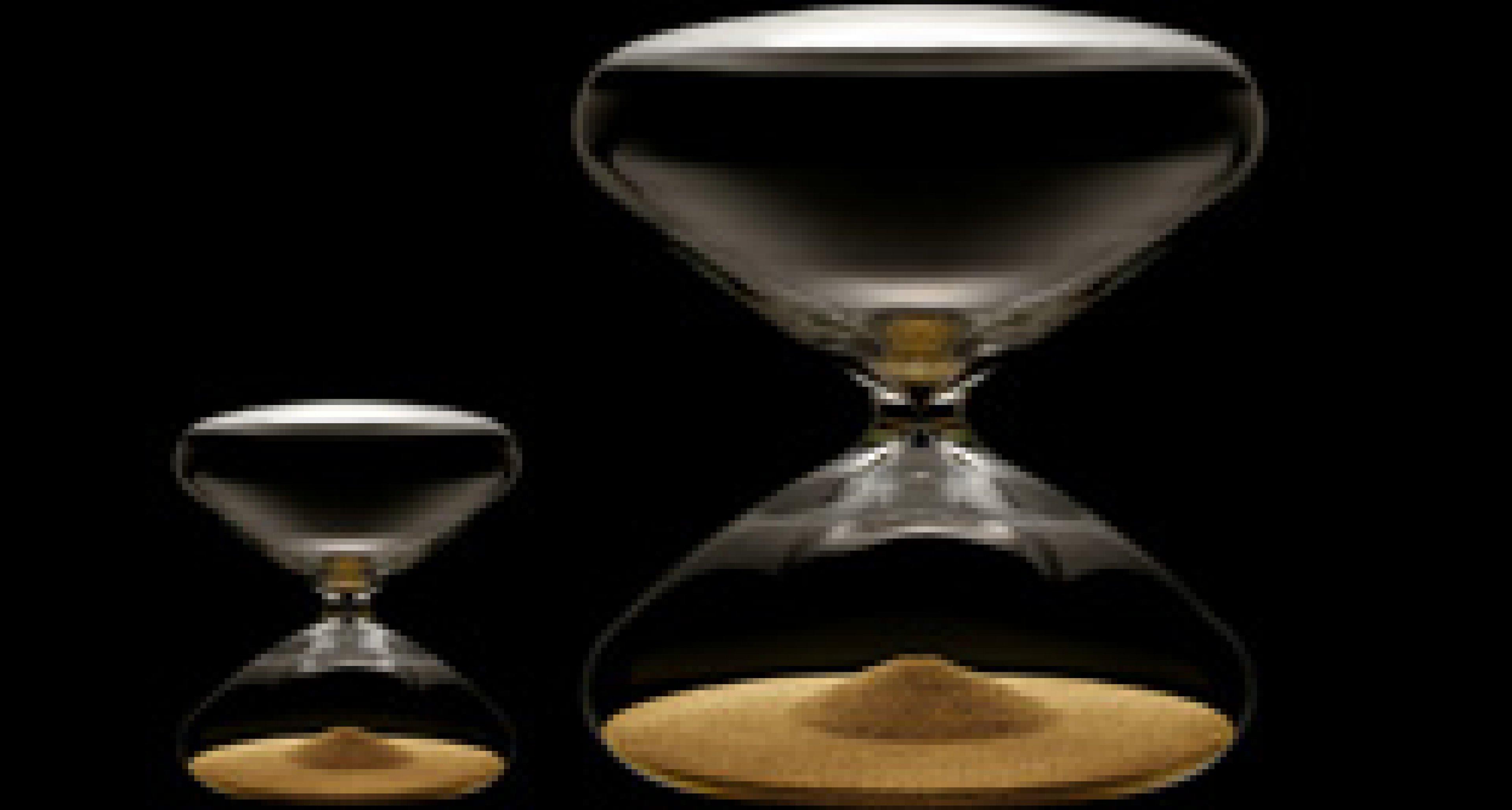 The Hourglass by Marc Newson: Flucht der Zeit