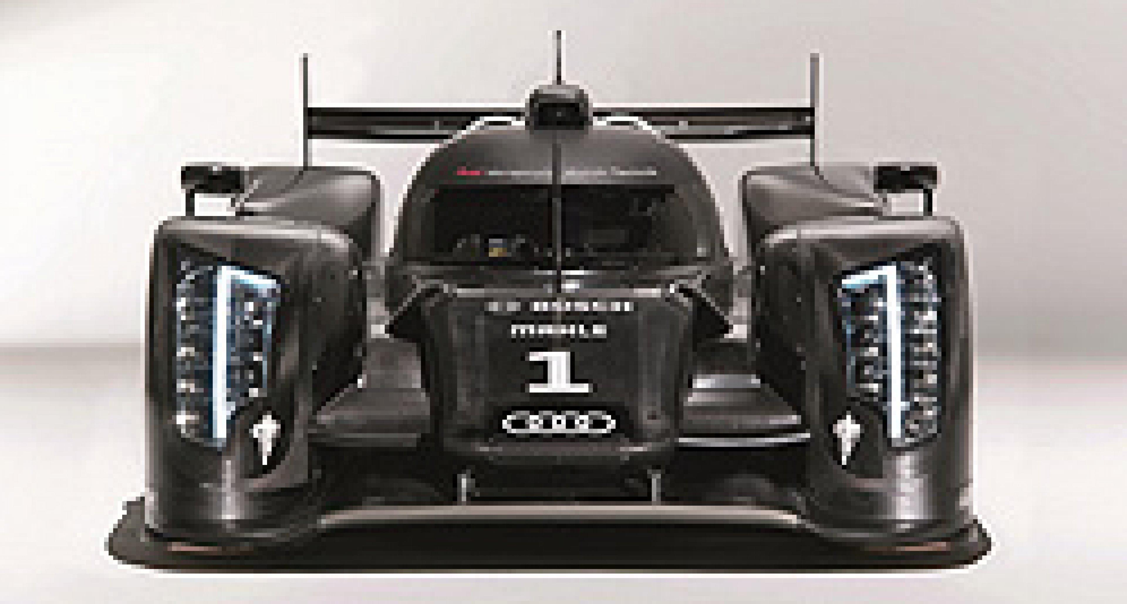 Audi R18 TDI: Mini-Motor für Le Mans