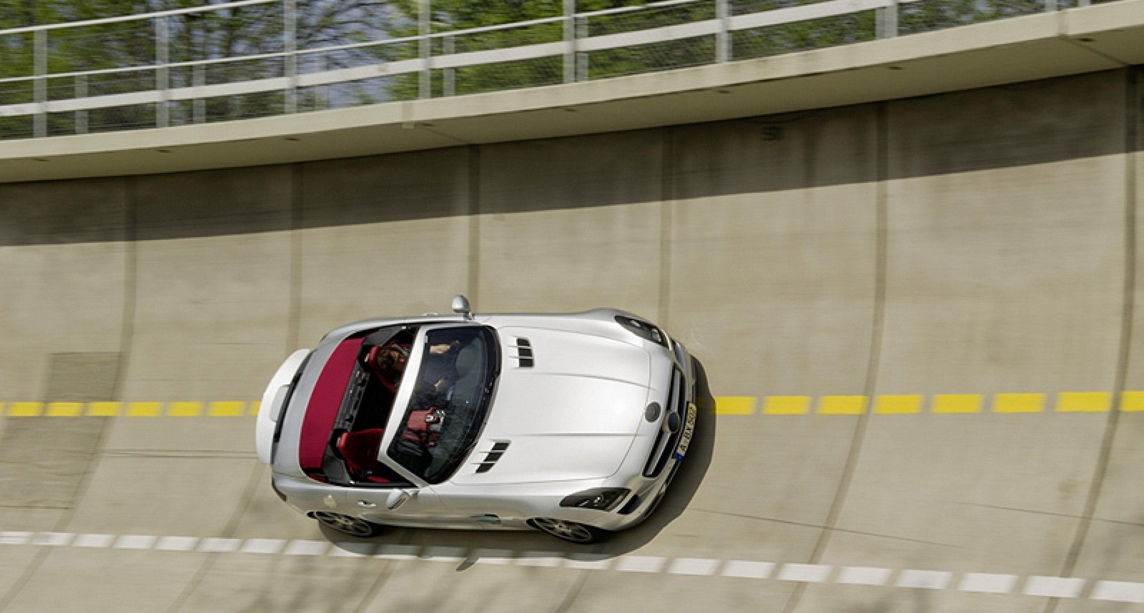 Mercedes SLS AMG Roadster: Alles andere als flügellahm