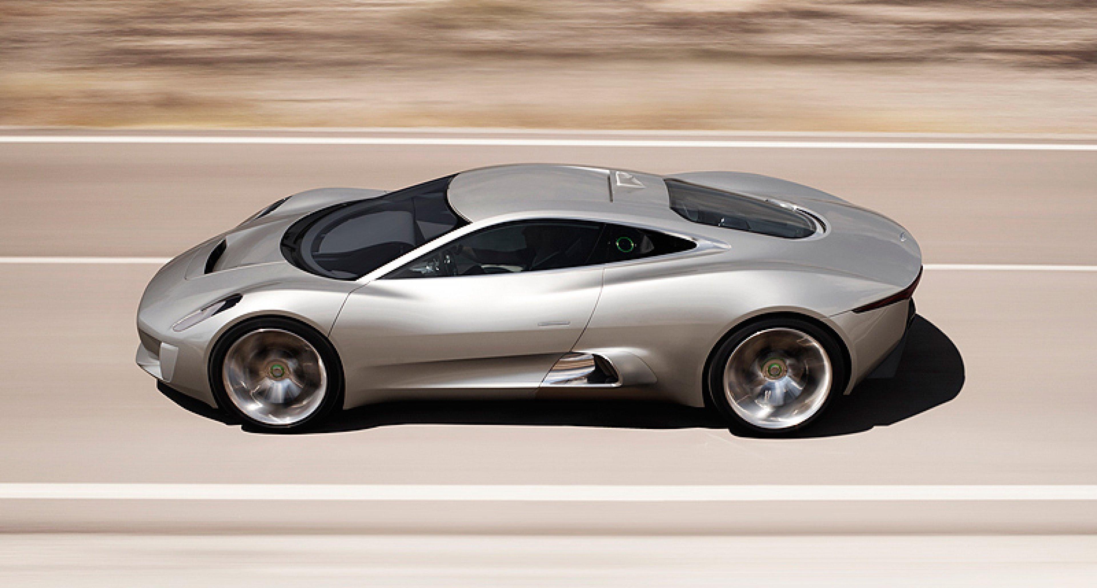 Jaguar to put C-X75 hybrid supercar into production
