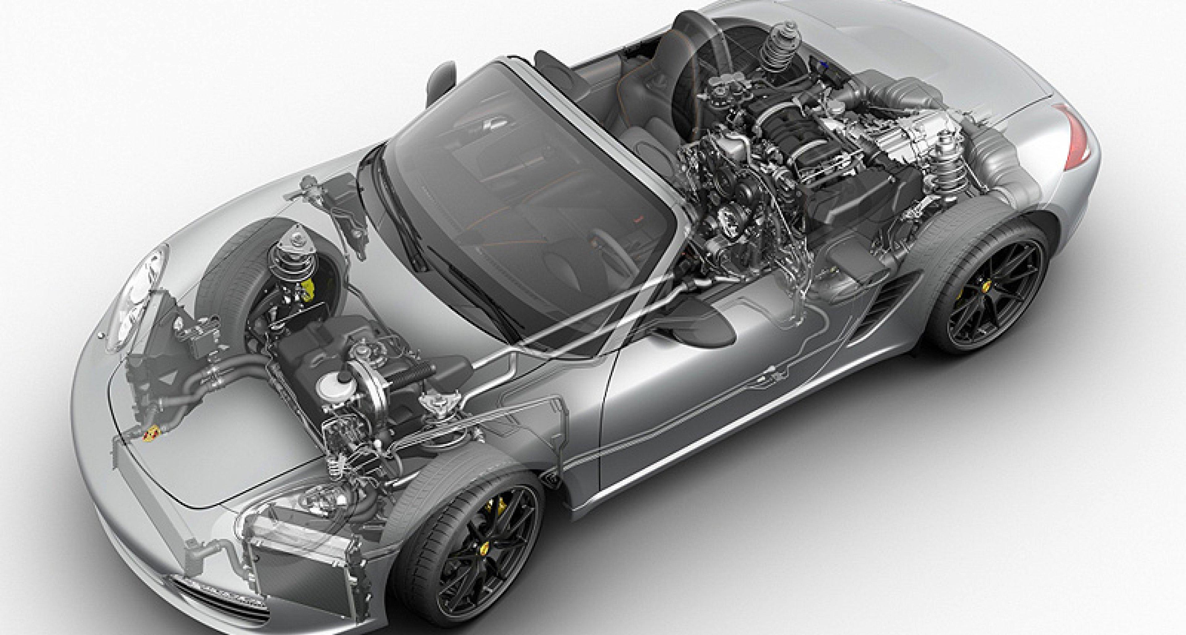 Porsche Boxster E: Sauberes Vorspiel