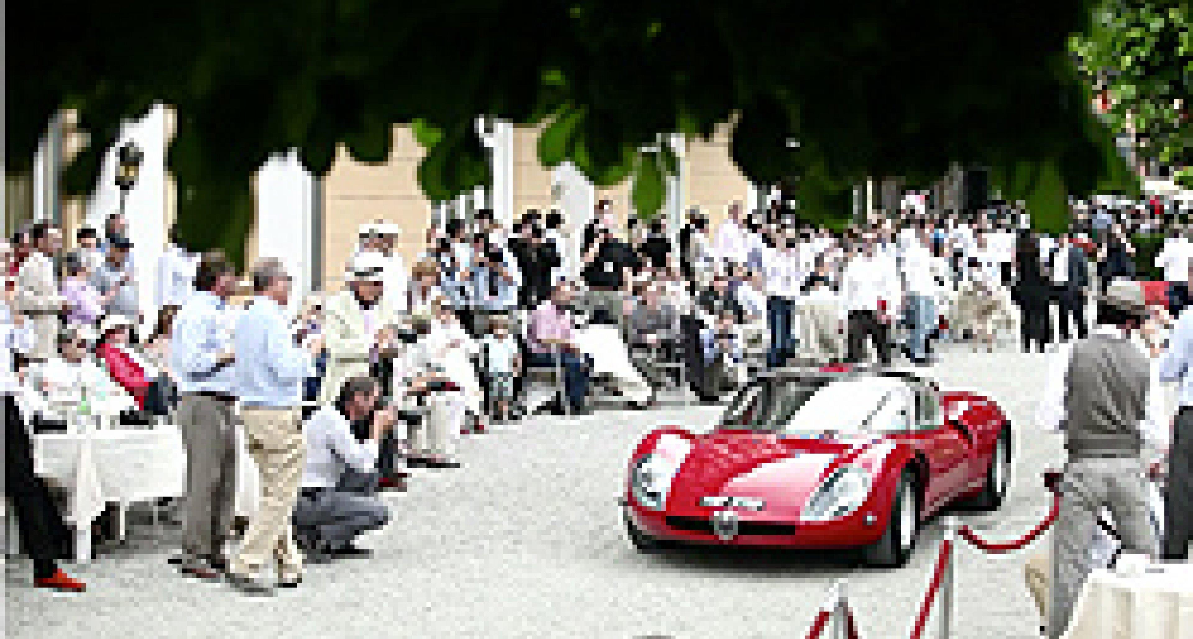 2011 Villa d'Este Concours d'Elegance: First impressions on video