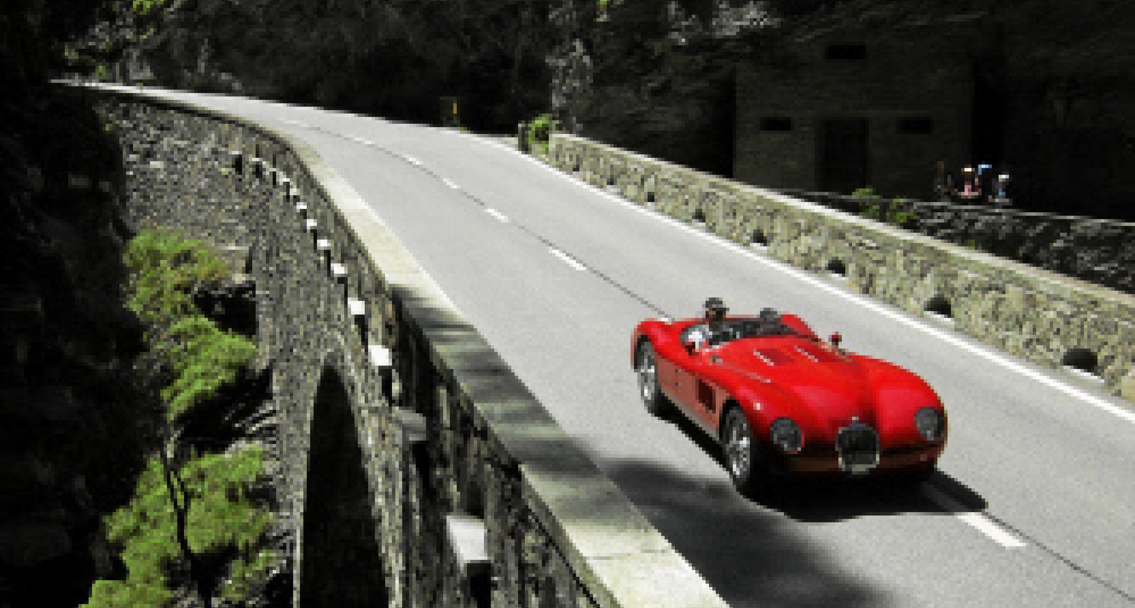 British Classic Car Meeting 2011: Originaler Jaguar C-Type am Start