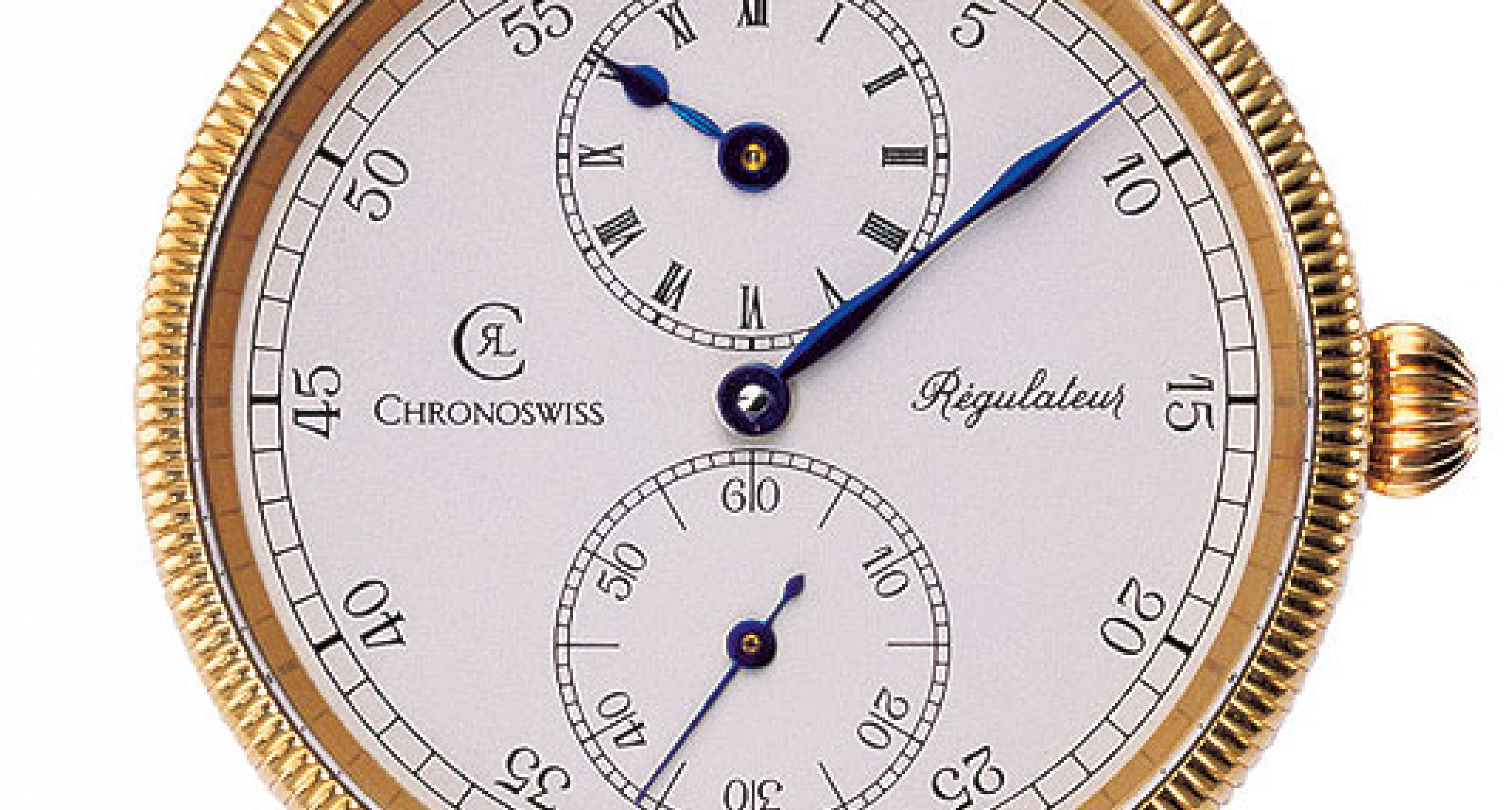 Icons of watchmaking history no.5: Chronoswiss Regulator