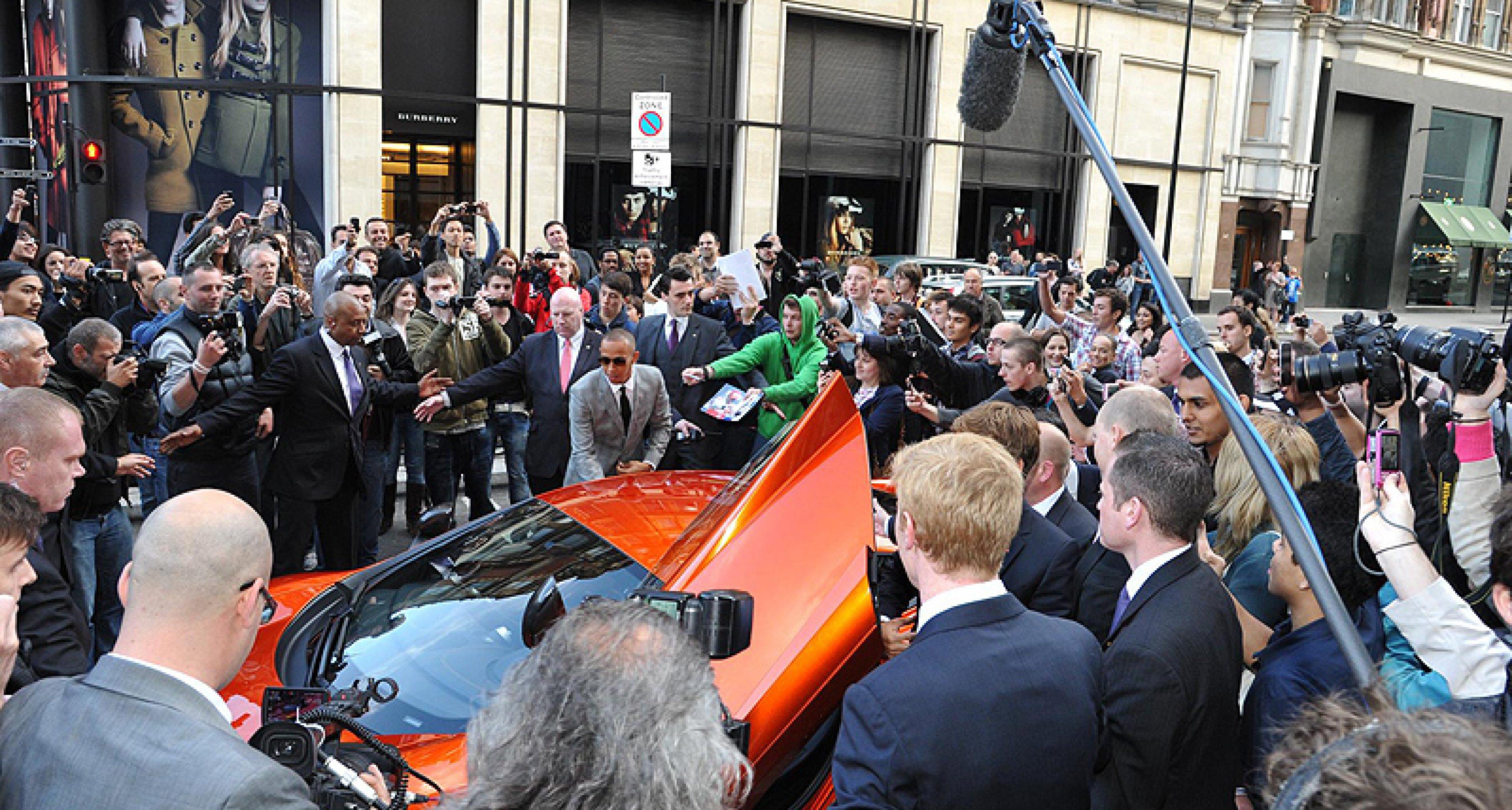World's first McLaren showroom opens in London