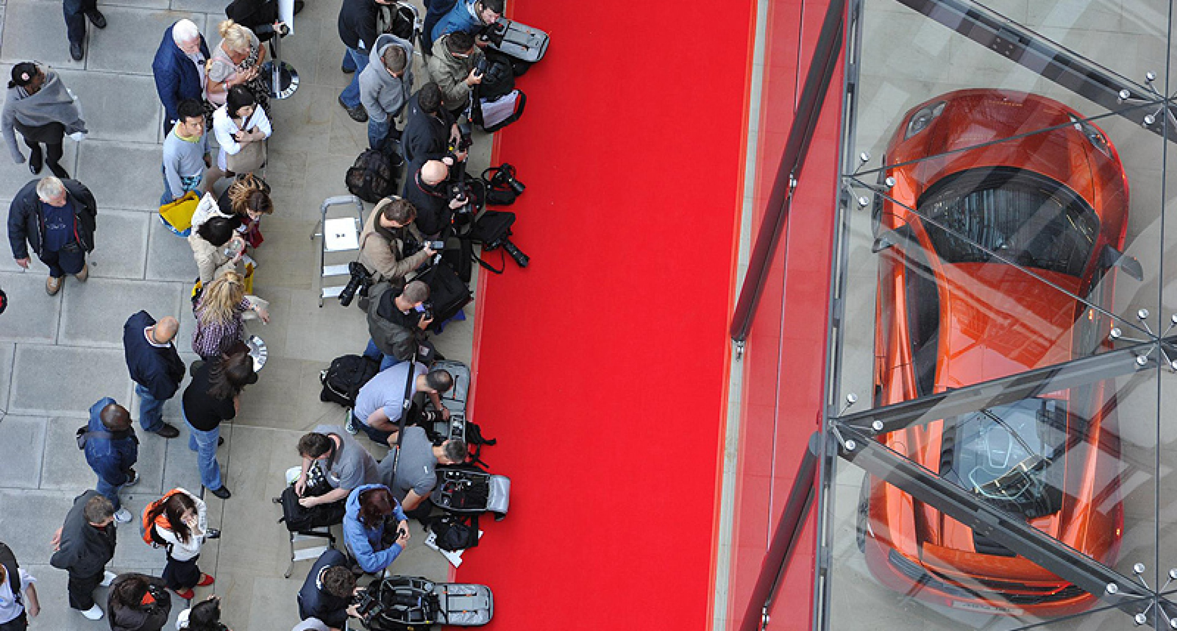 World's first McLaren showroom opens in London