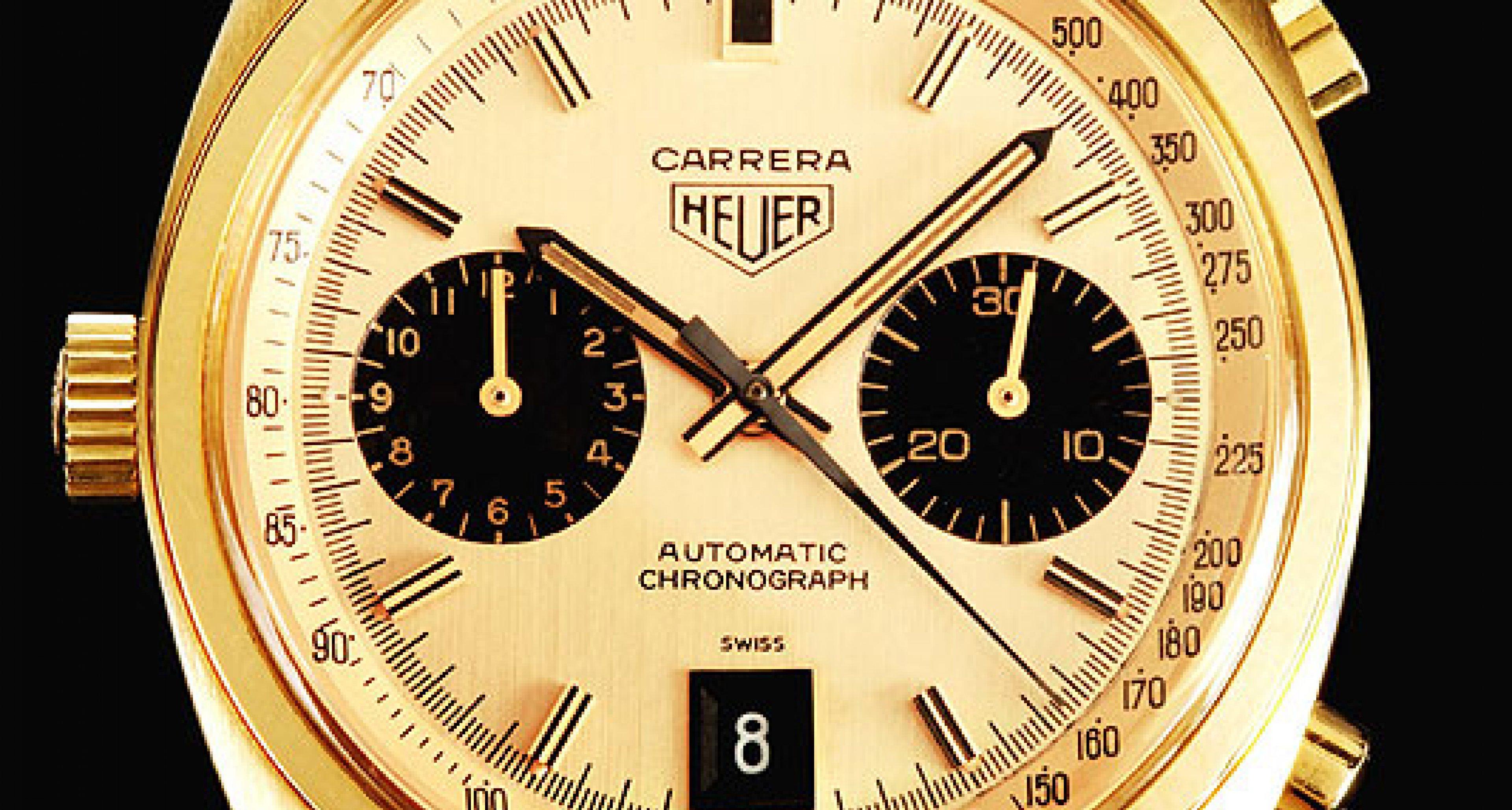 Ikonen der Uhrengeschichte No. 6: Die Carrera von Heuer