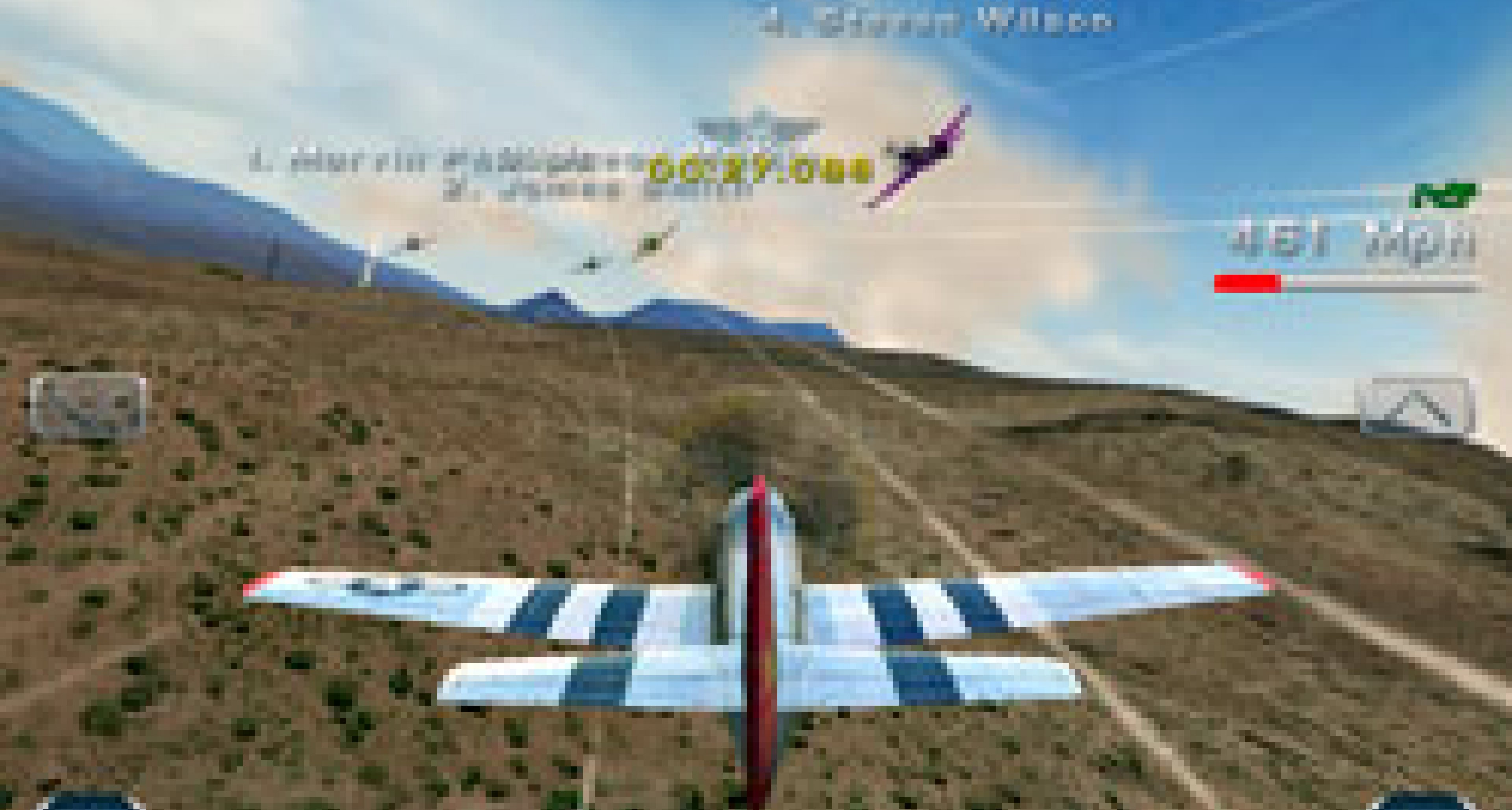 'Breitling Reno Air Races - The Game'... and the YouTube video
